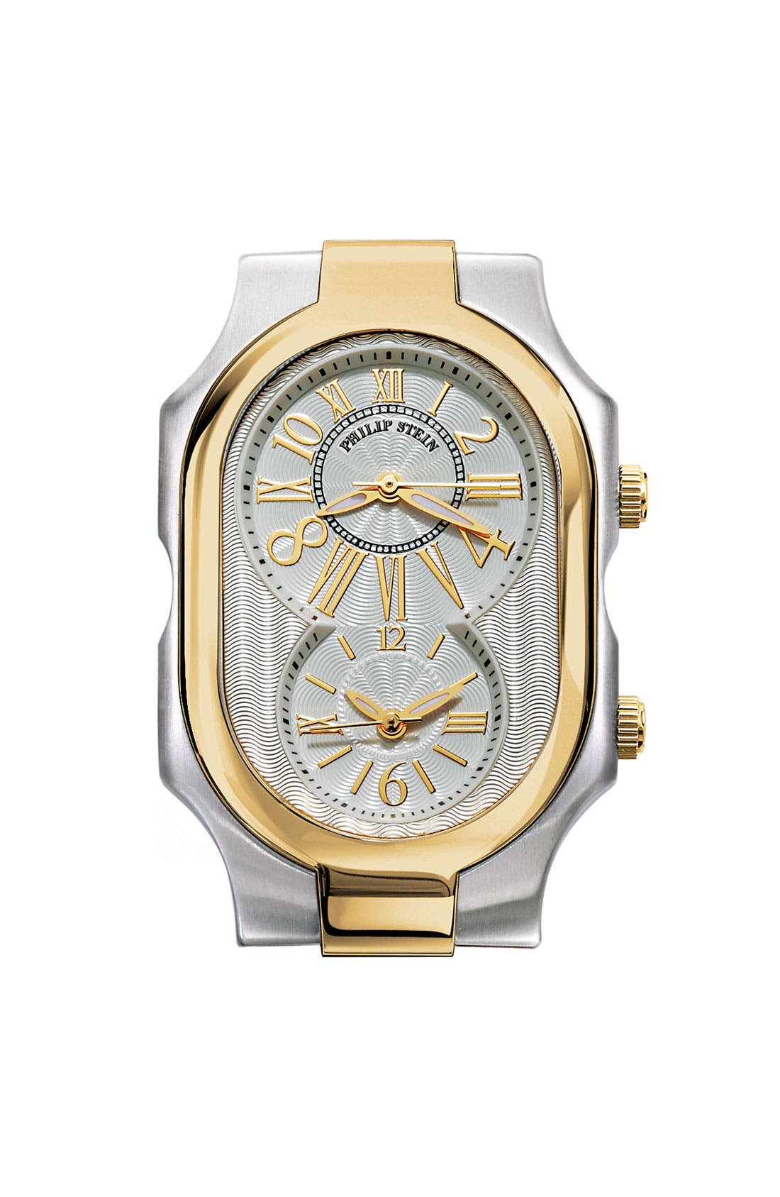 Main Image - Philip Stein® 'Signature' Large Two Tone Gold Case