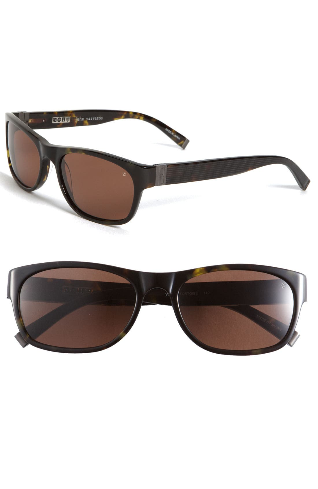 Alternate Image 1 Selected - John Varvatos Collection 'Swirl' Plastic Sunglasses