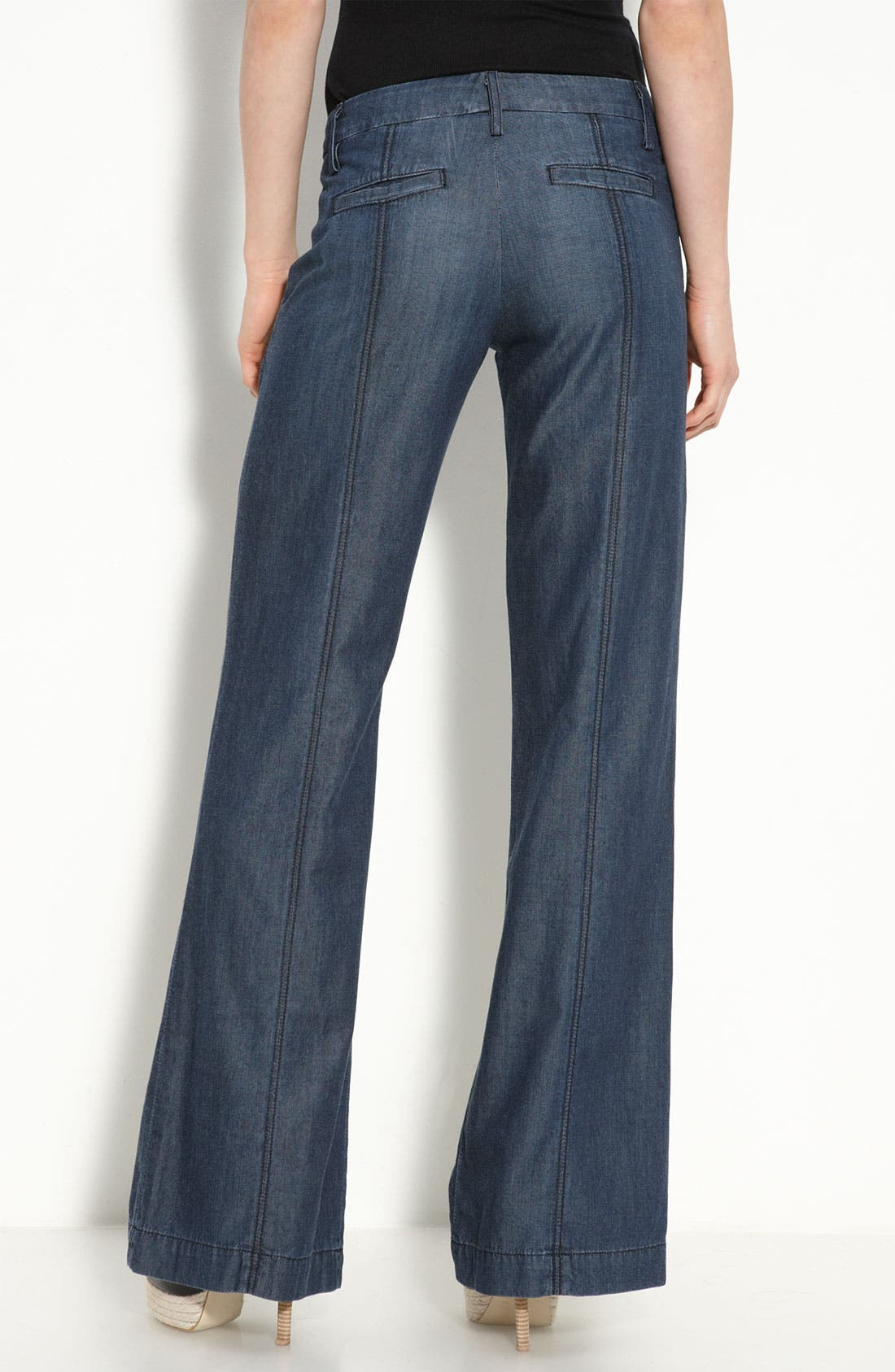 Alternate Image 1 Selected - Rich & Skinny 'Island' Stretch Trousers (River Rinse Wash)