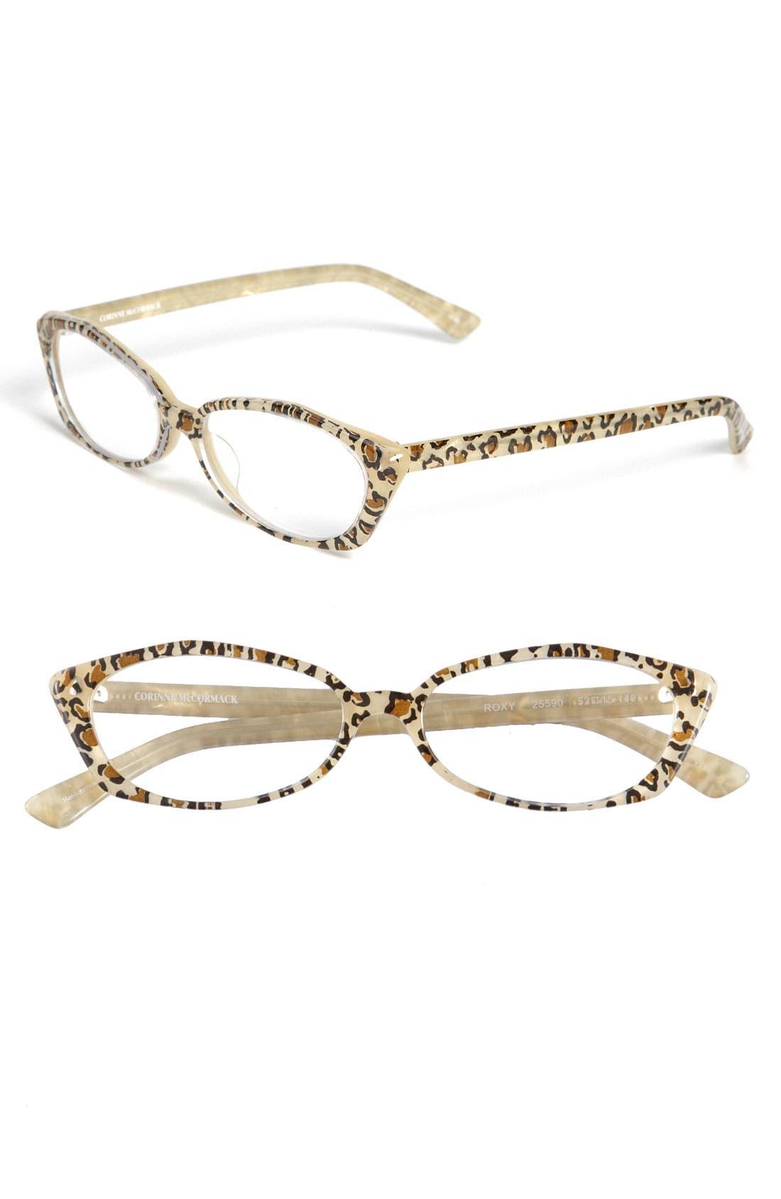 Main Image - Corinne McCormack Cat's Eye Reading Glasses