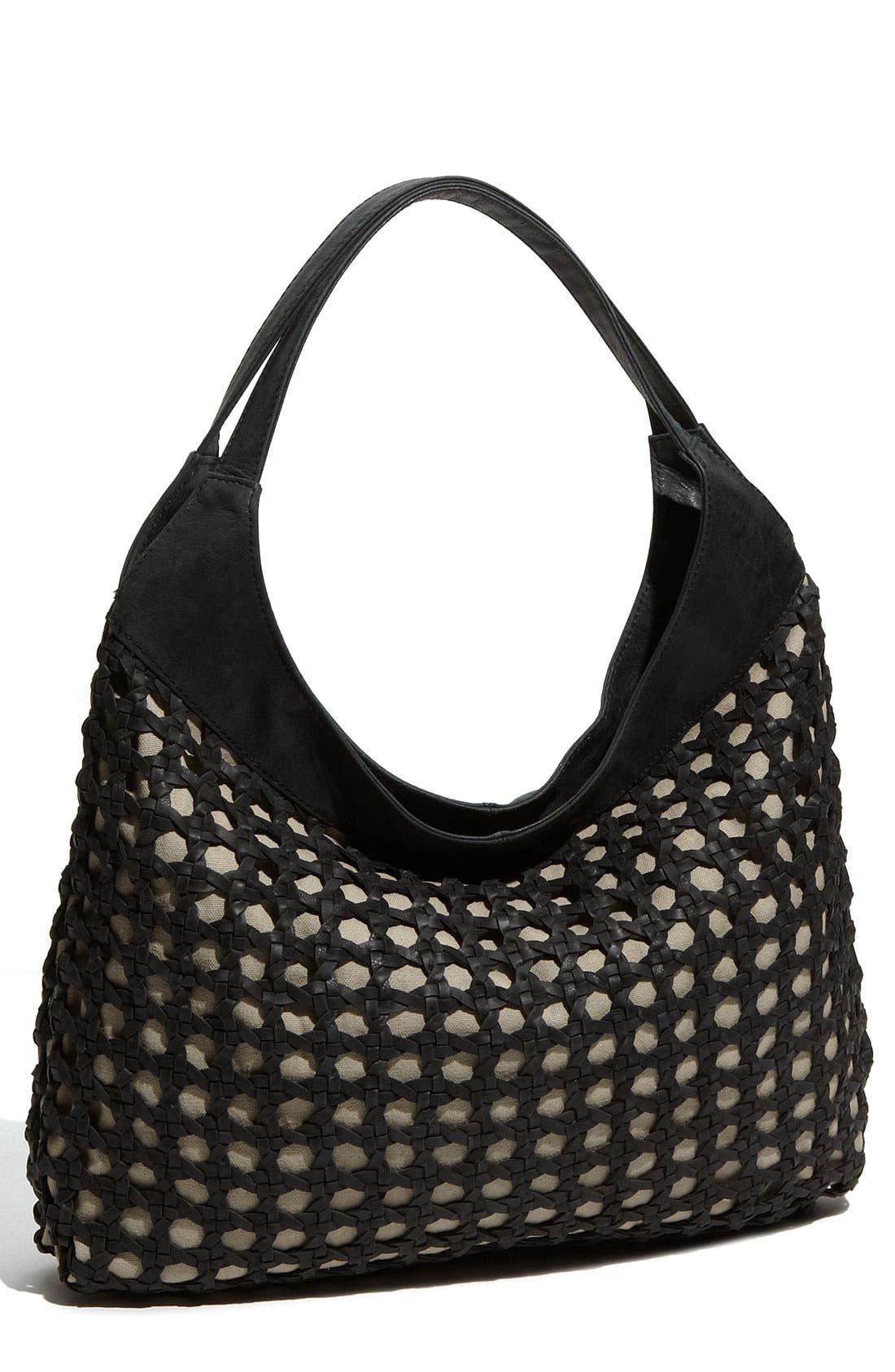 Main Image - Hinge® 'Net' Woven Shoulder Bag