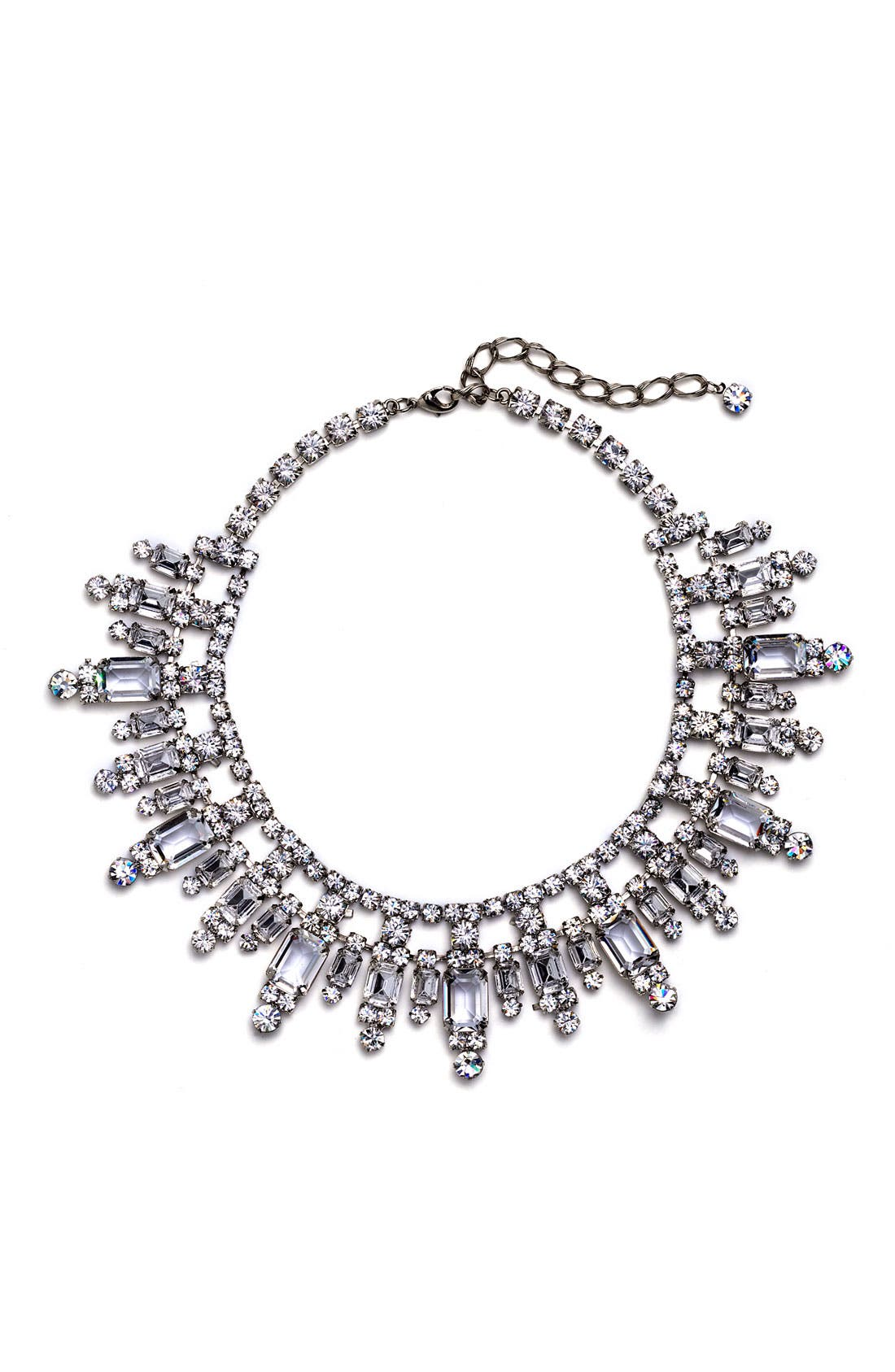 Main Image - Nordstrom Crystal Collection Bib Necklace