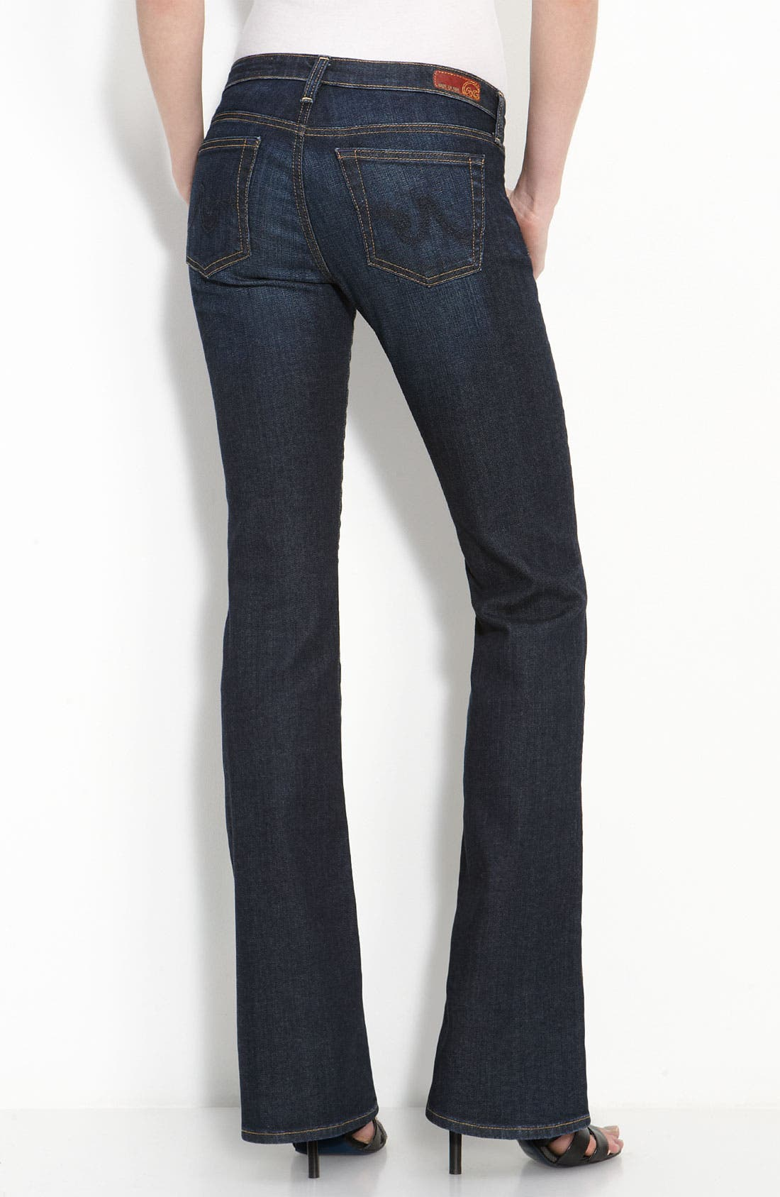 Alternate Image 1 Selected - AG Jeans 'Angel' Bootcut Stretch Denim Jeans (Case)