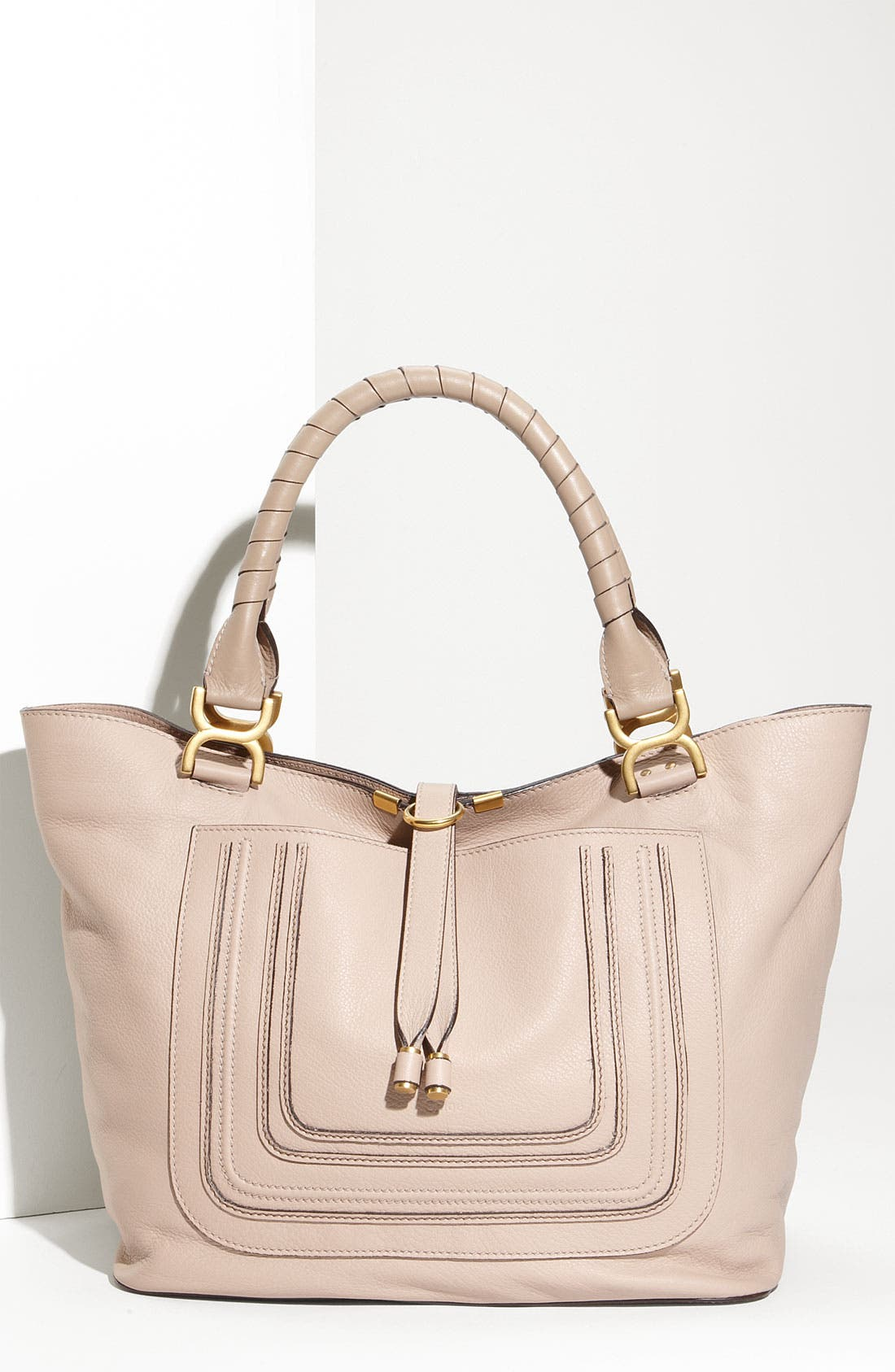 Alternate Image 1 Selected - Chloé 'Marcie - New' Leather Tote