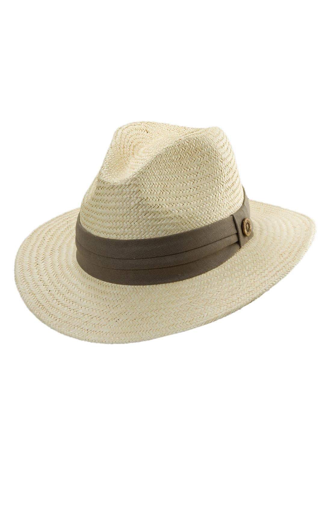 Main Image - Tommy Bahama 'Golf' Palm Fiber Fedora