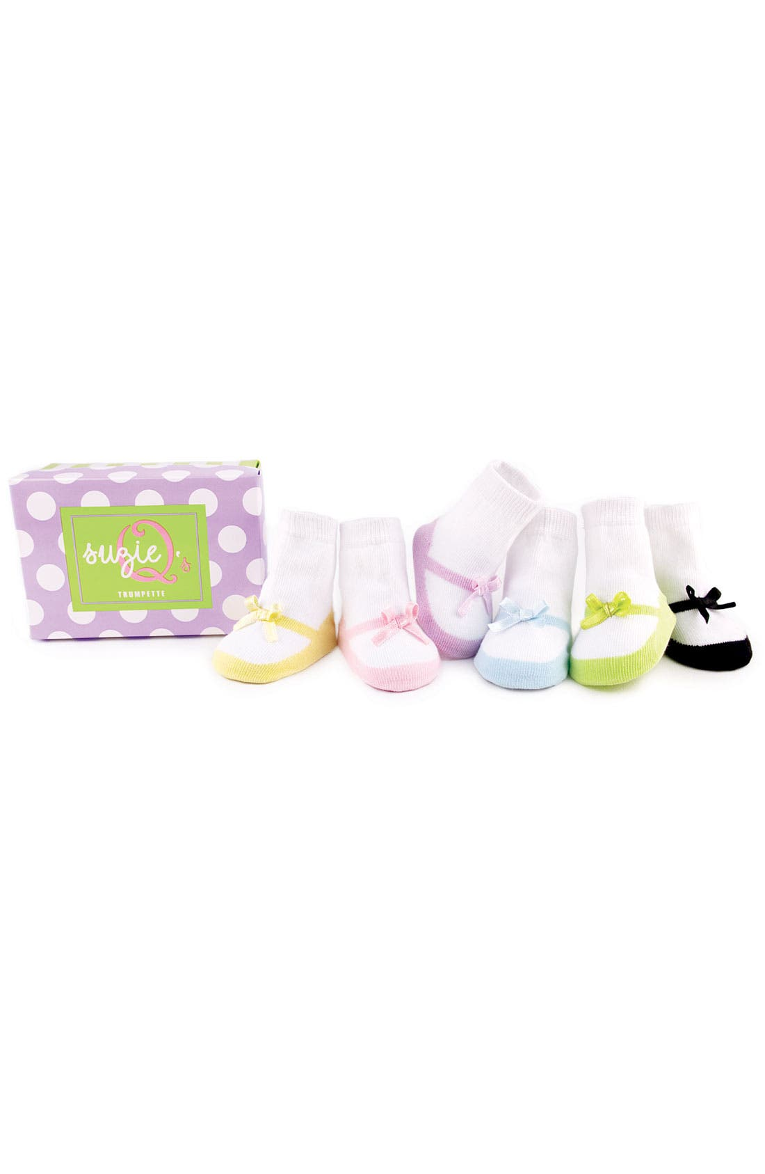 Alternate Image 1 Selected - Trumpette Socks (Toddler Girls)