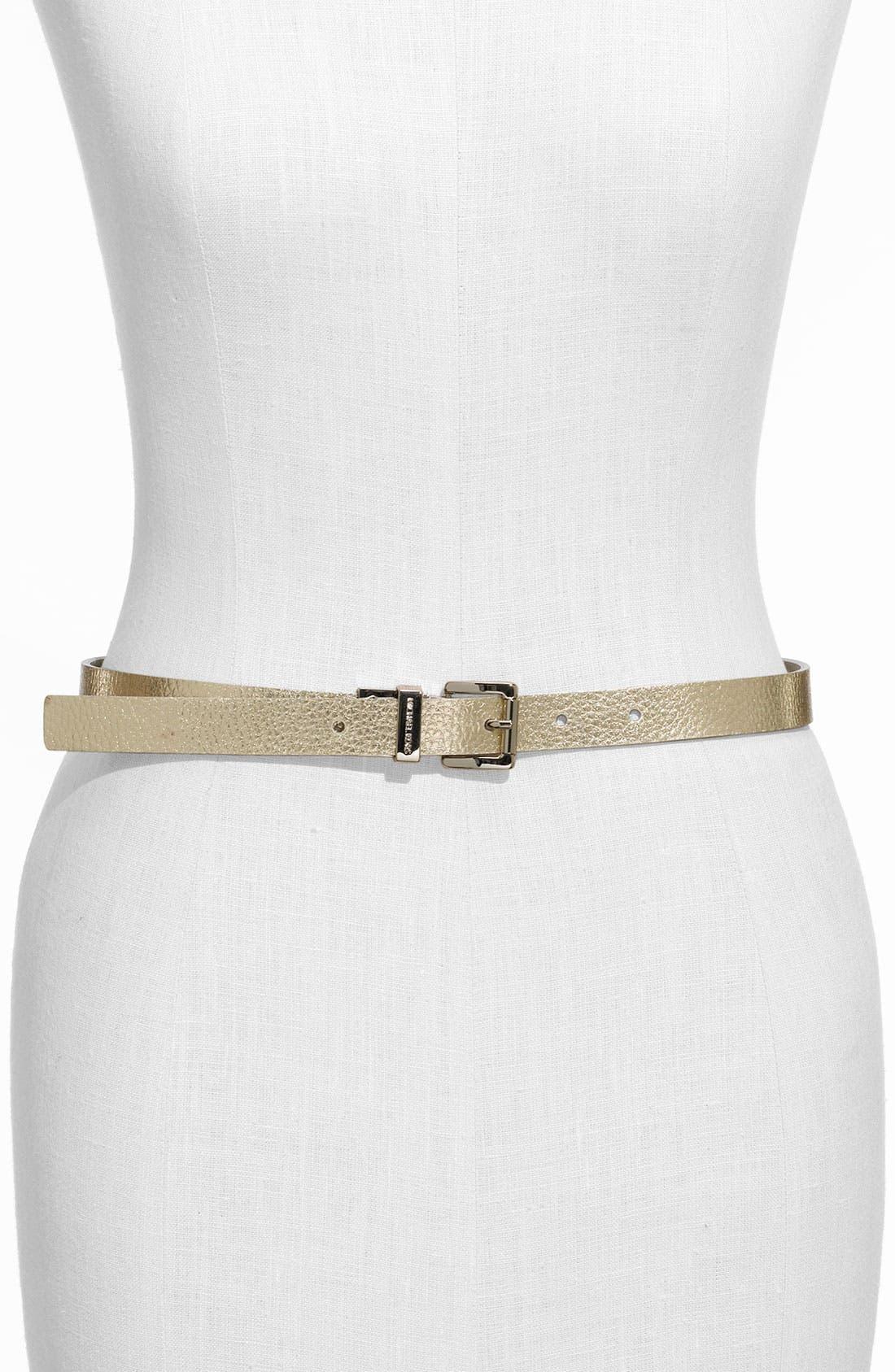 Main Image - MICHAEL Michael Kors Metallic Belt