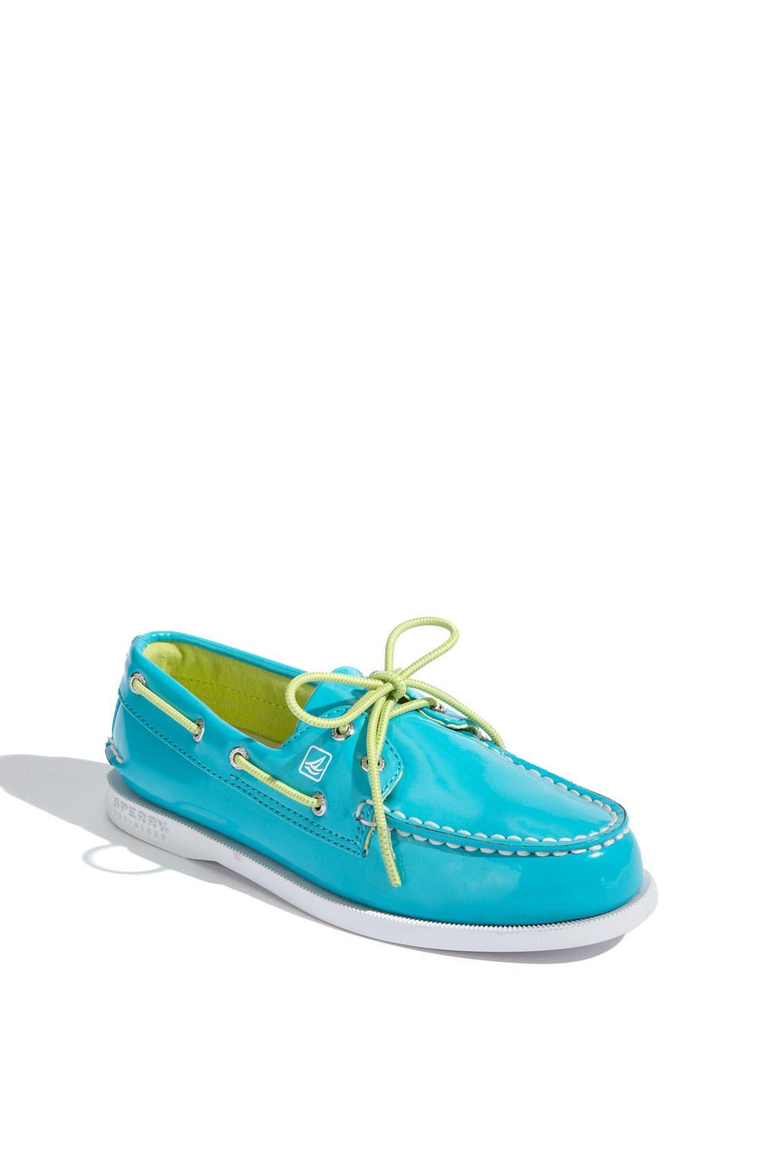 Alternate Image 1 Selected - Sperry Top-Sider® 'Authentic Original' Boat Shoe (Walker, Toddler, Little Kid & Big Kid)