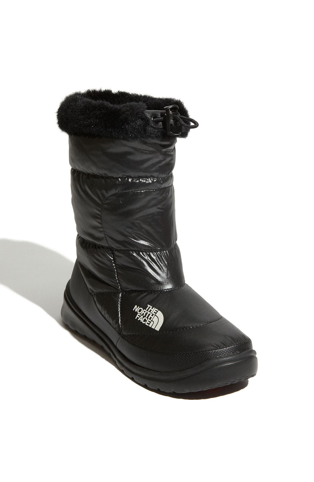 Alternate Image 1 Selected - The North Face 'Nuptse Fur IV' Bootie