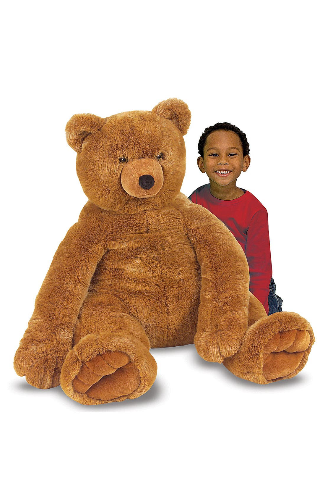 Main Image - Melissa & Doug Oversized Brown Teddy Bear