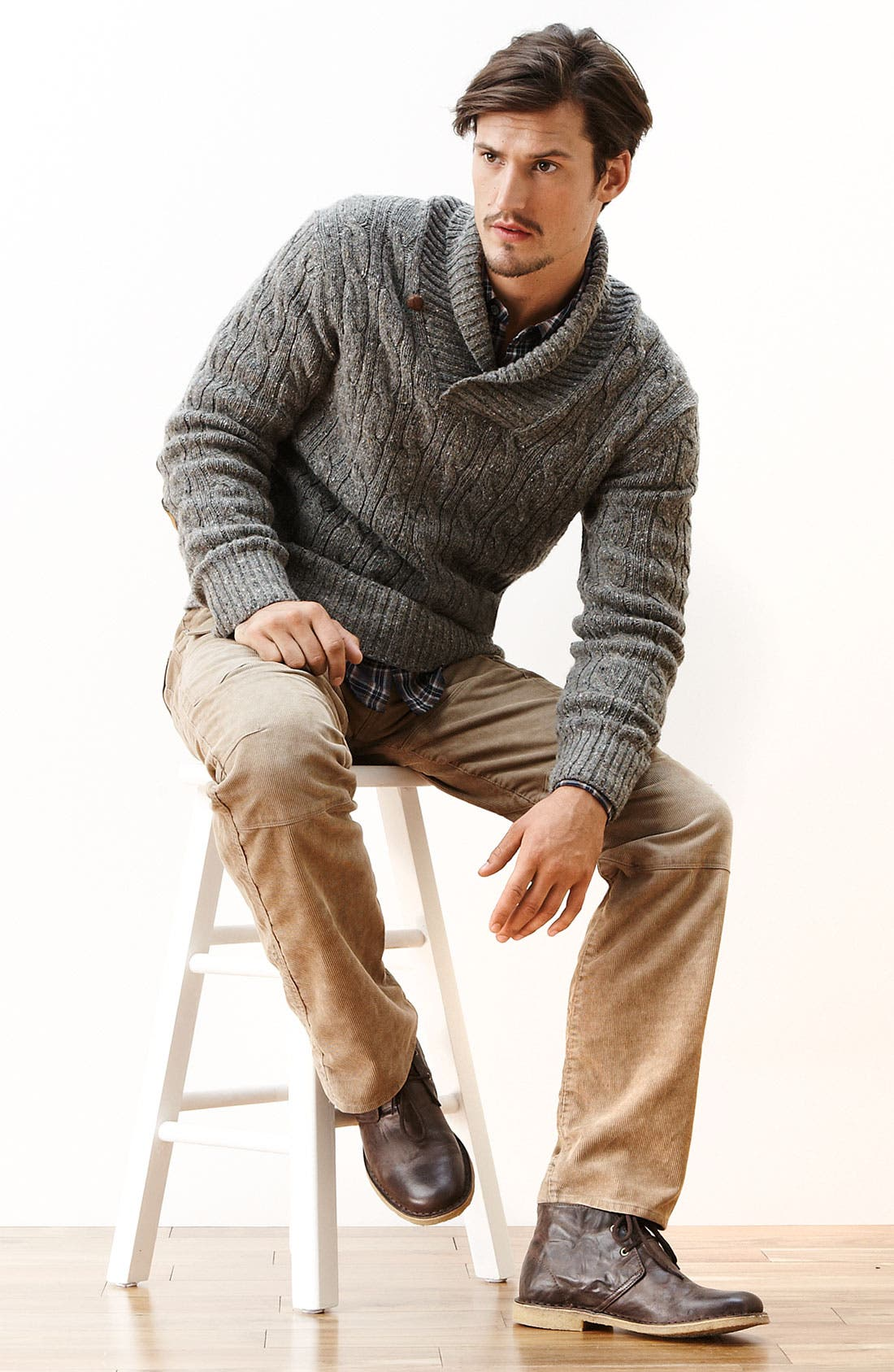 Alternate Image 5  - UGG® Leighton Chukka Boot (Men)