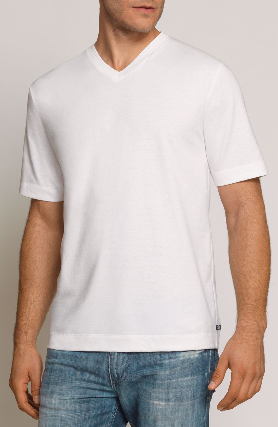 Main Image - Coopers by Jockey® 'Outlast' V-Neck T-Shirt (2-Pack)