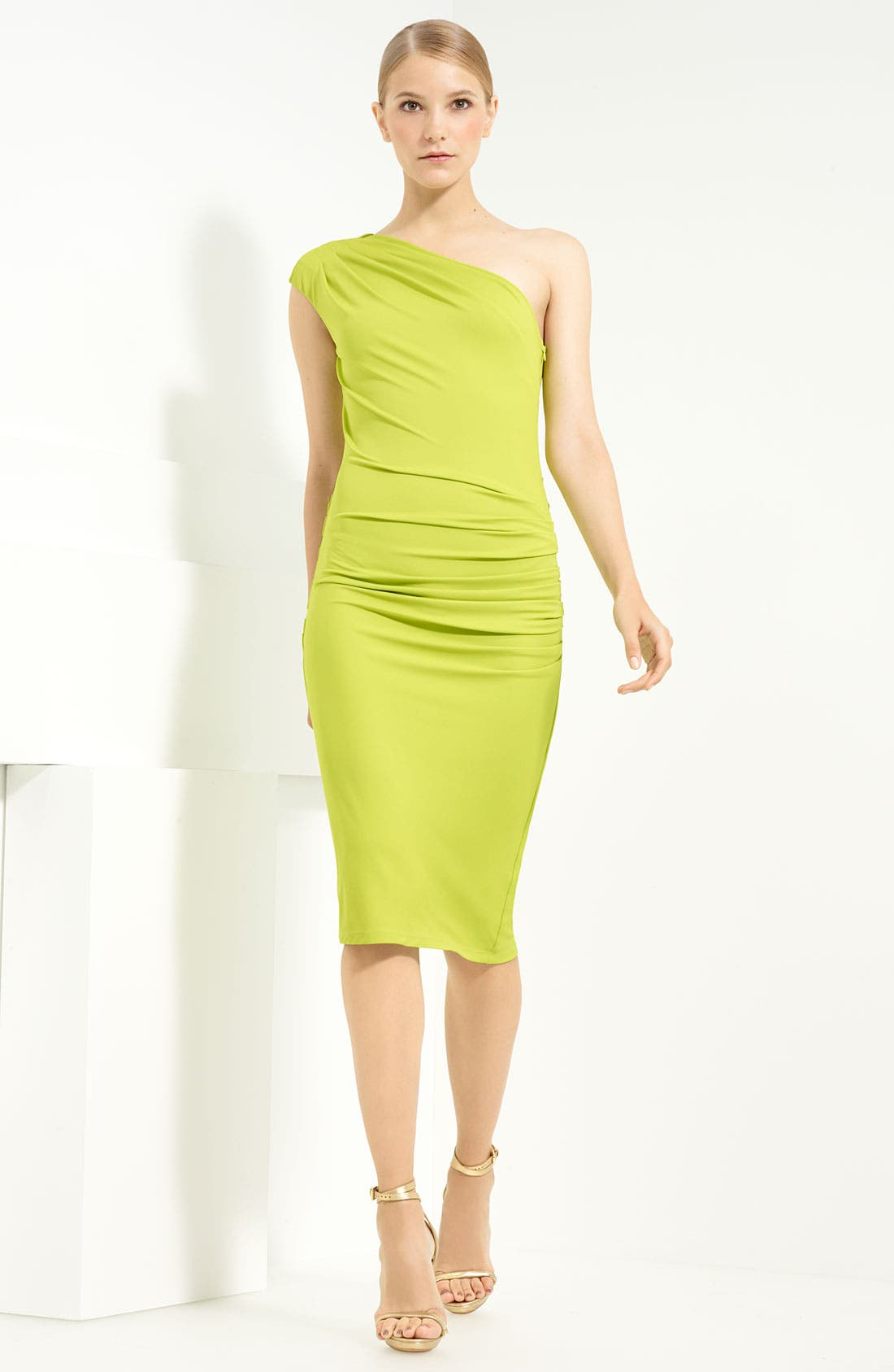 Main Image - Michael Kors One Shoulder Jersey Dress