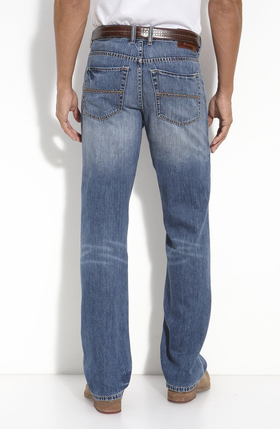 Alternate Image 2  - Tommy Bahama Denim 'Island Ease' Classic Fit Jeans (Vintage Medium)(Big & Tall)