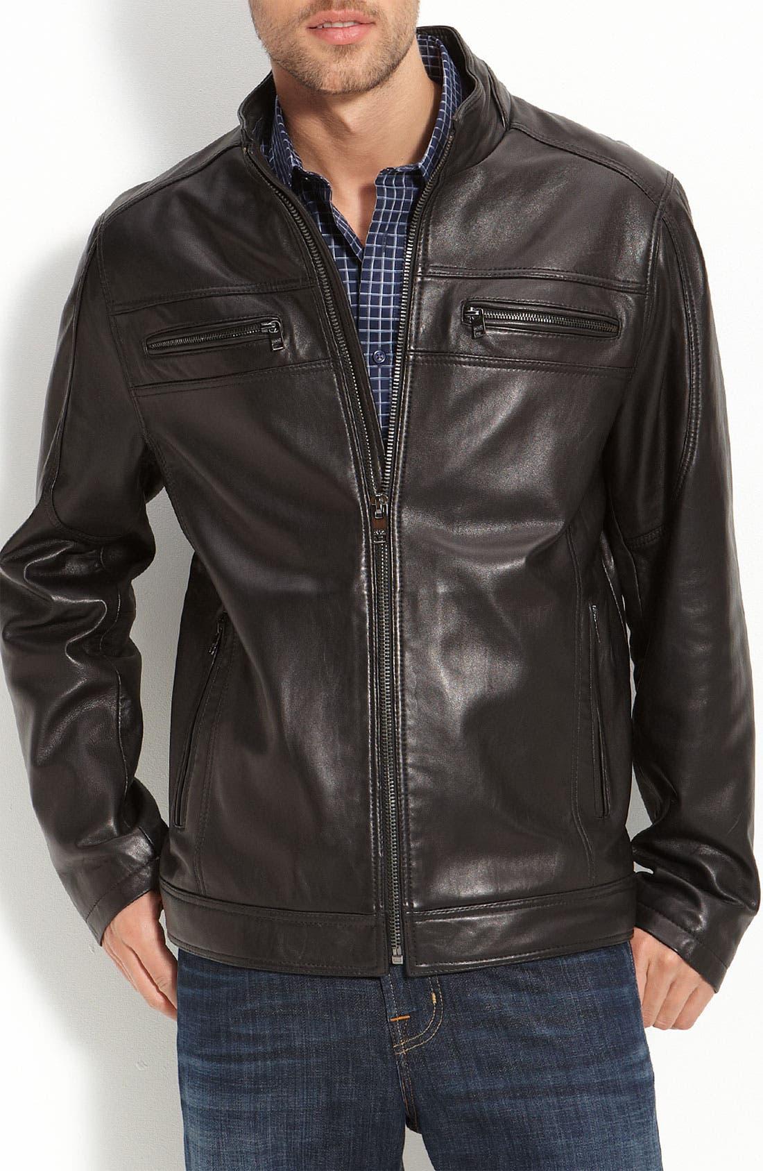 Alternate Image 1 Selected - Marc New York 'Jackson' Leather Jacket