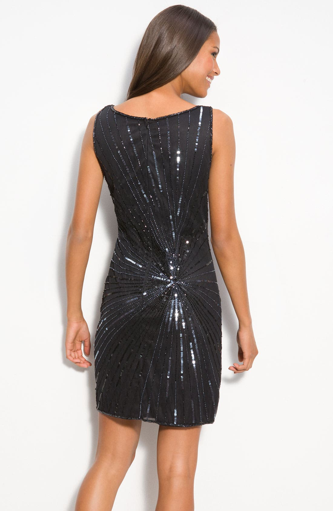 Alternate Image 2  - Pisarro Nights Bead & Sequin Shift Dress