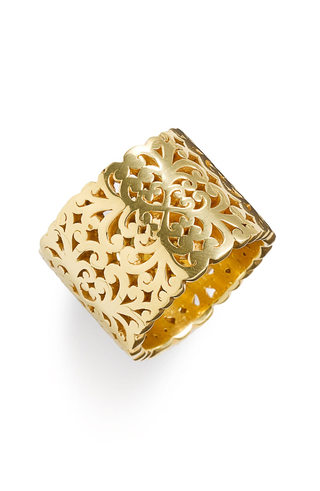 Main Image - Lois Hill 'Two Tone Organic Geo' Cigar Band Ring (Nordstrom Exclusive)