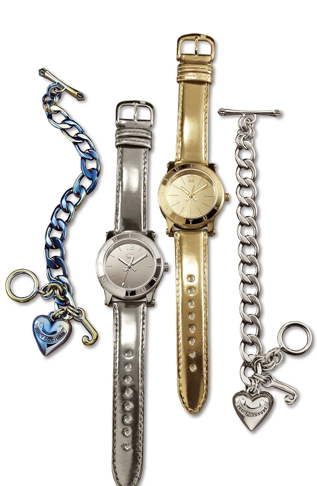 Alternate Image 2  - Juicy Couture Starter Charm Bracelet