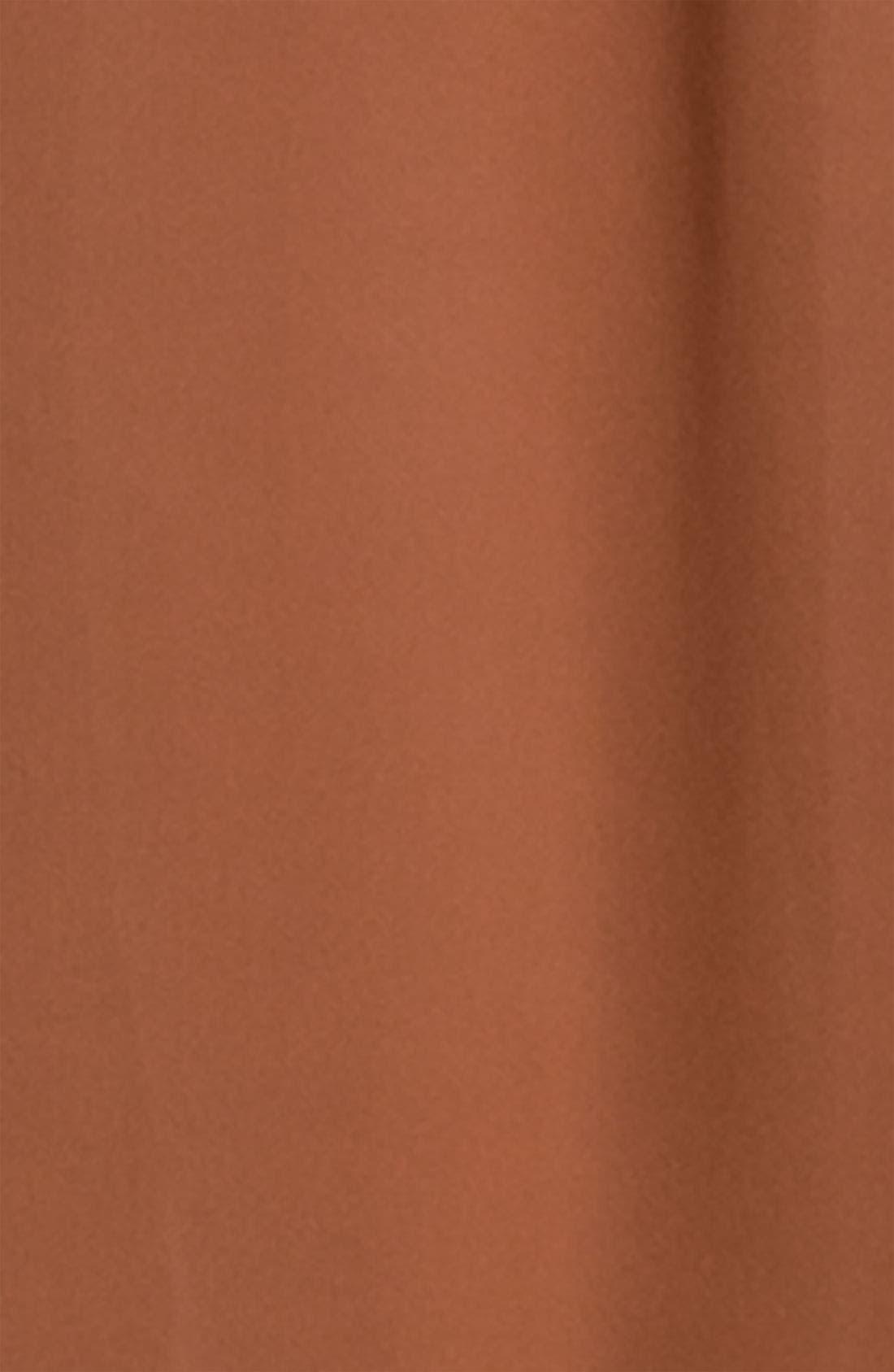 Alternate Image 3  - Frenchi® Half Sheer Chiffon Maxi Skirt (Juniors)