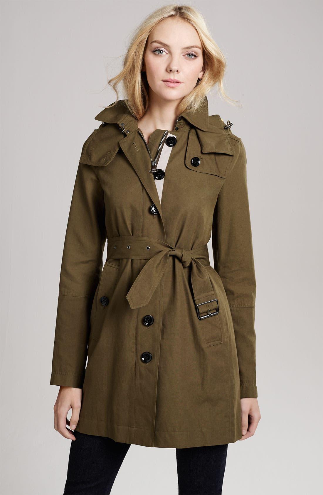 Alternate Image 3  - Burberry Brit Raincoat