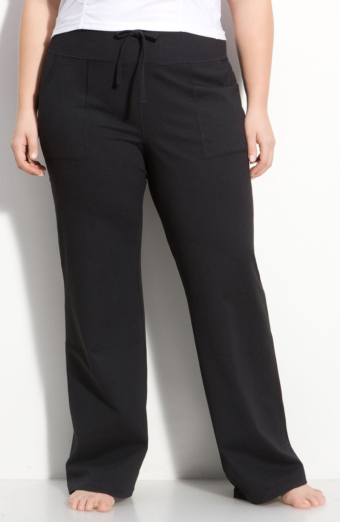 Alternate Image 1 Selected - Zella 'Soul' Wide Leg Pants (Plus)