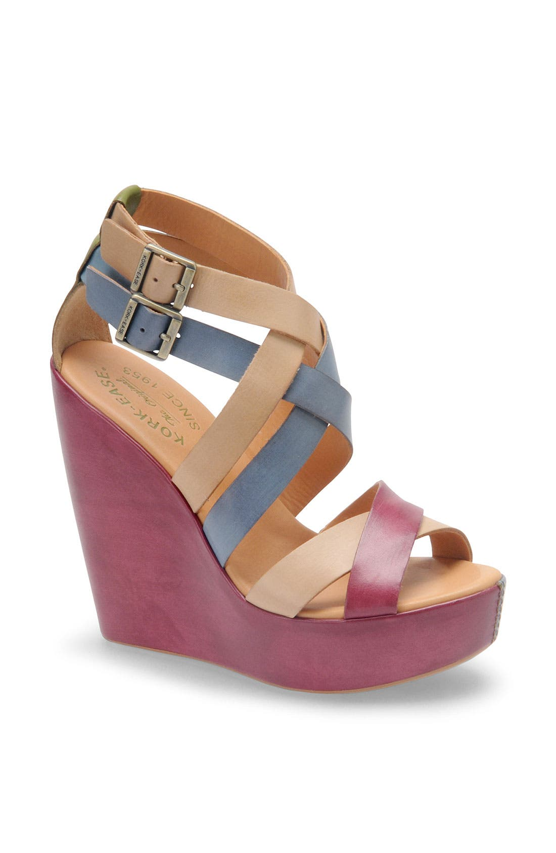 Alternate Image 1 Selected - Kork-Ease 'Hailey' Wedge Sandal
