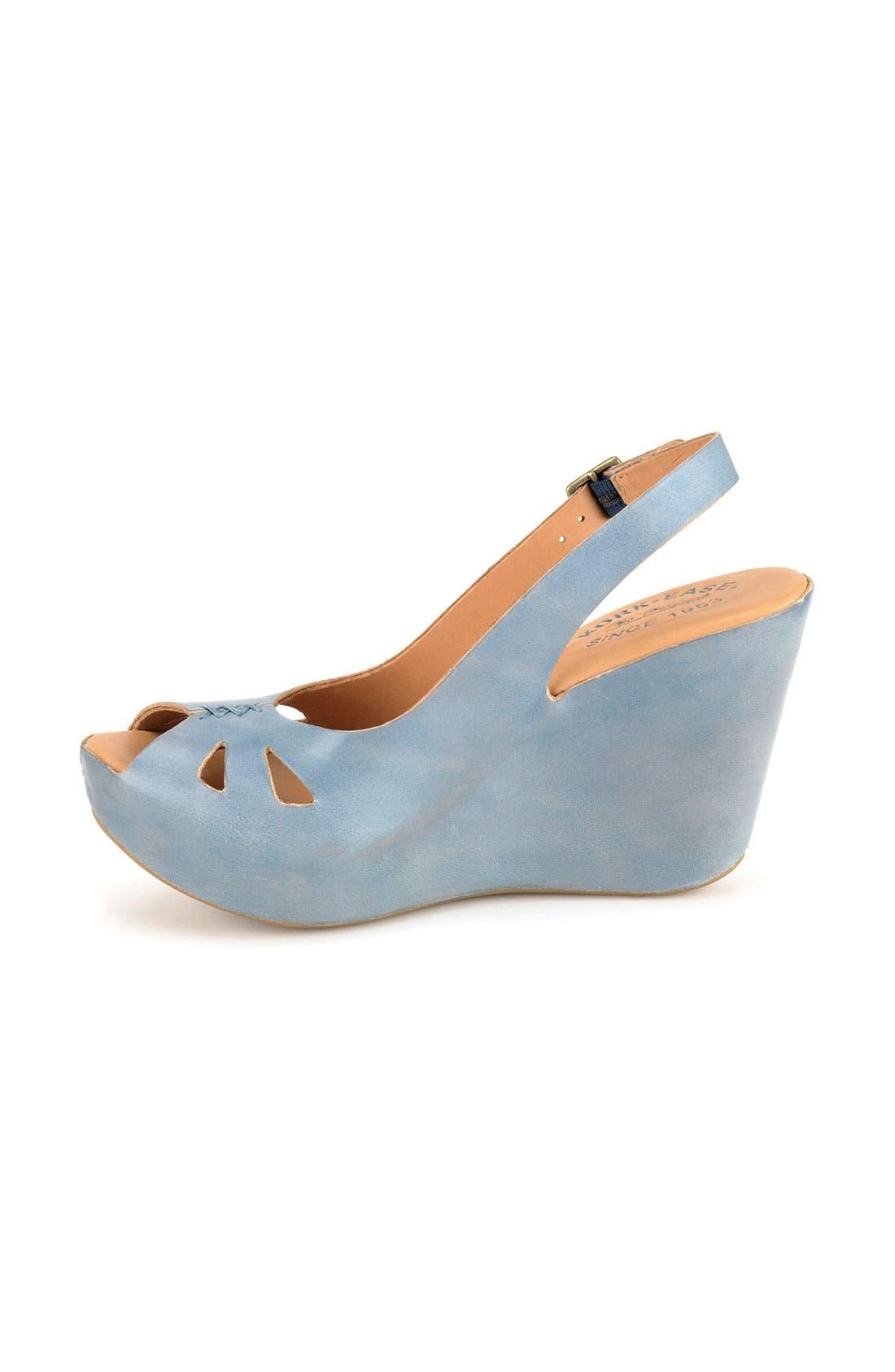 Alternate Image 2  - Kork-Ease® 'Felicia' Platform Sandal (Women)
