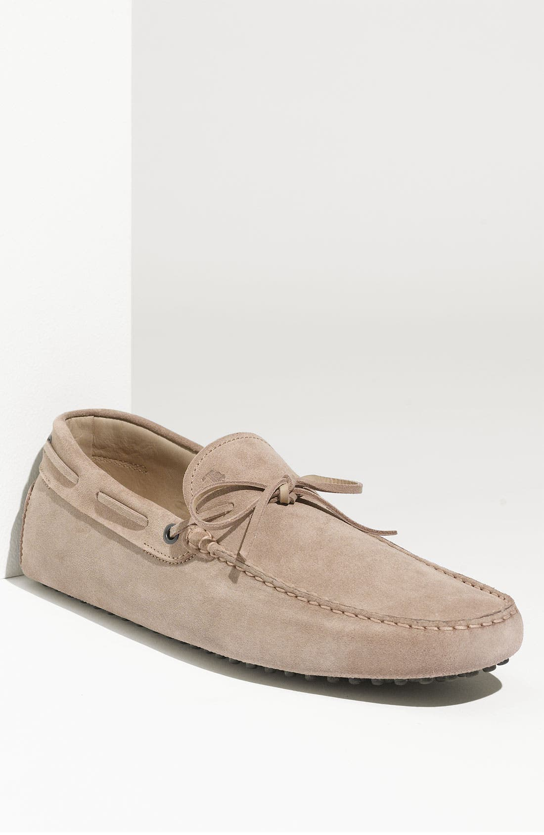 Alternate Image 1 Selected - Tod's 'Gommini' Lace-Up Driving Shoe
