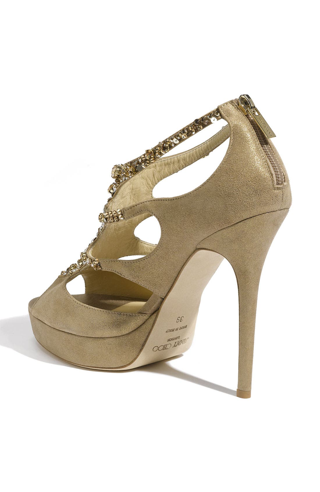 Alternate Image 2  - Jimmy Choo 'Teal Tawny' Jeweled Sandal