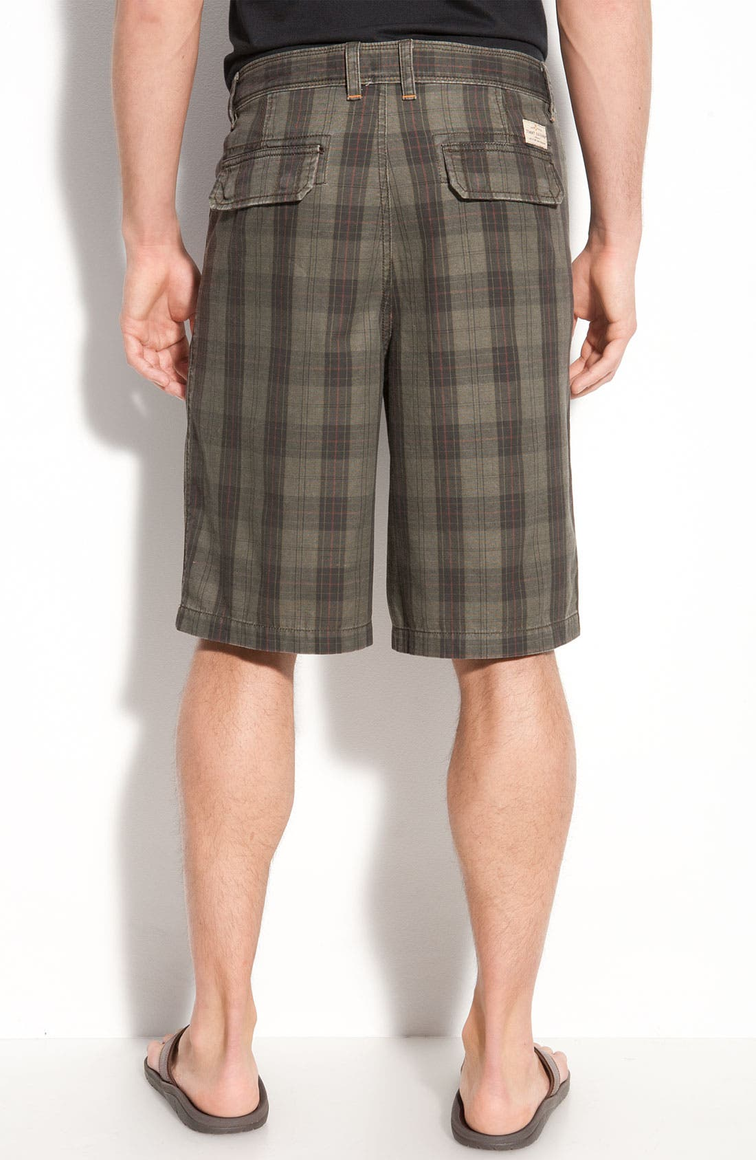 Alternate Image 2  - Tommy Bahama Denim 'Wanted, Plaid or Alive' Shorts