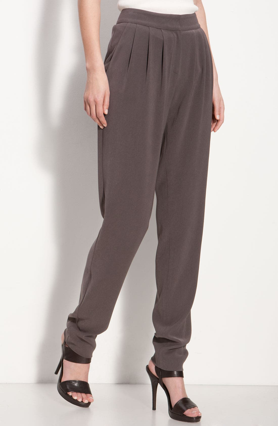 Alternate Image 1 Selected - St. John Collection Slouchy Pants