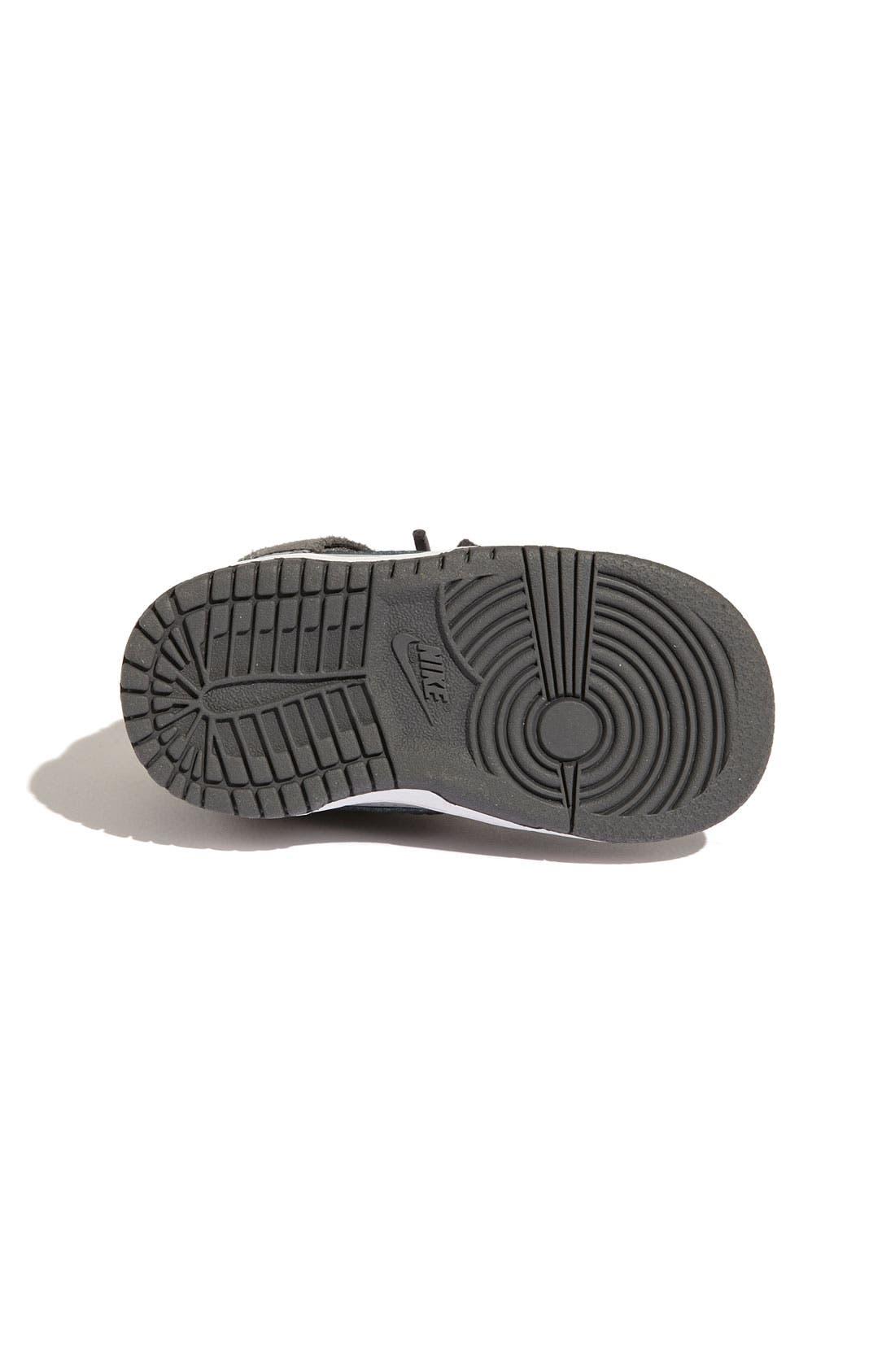 Alternate Image 4  - Nike 'Dunk High' Sneaker (Baby, Walker & Toddler)