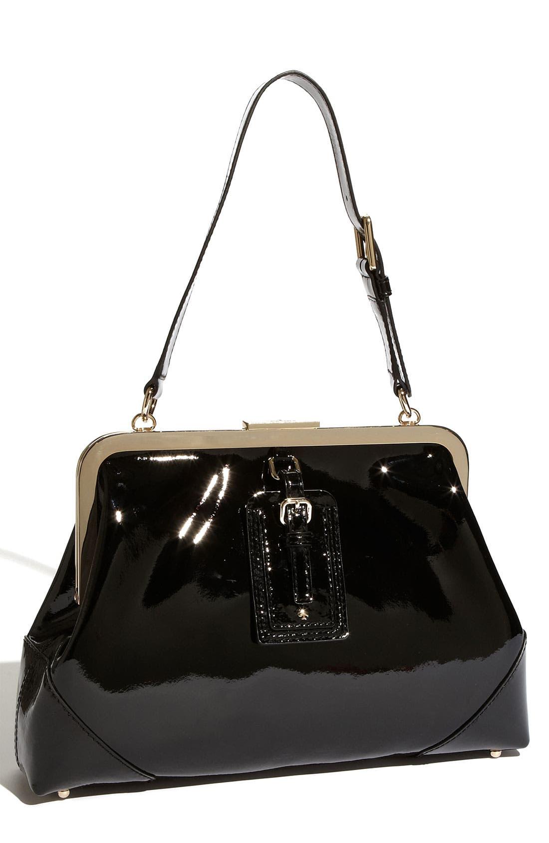 Alternate Image 1 Selected - kate spade new york 'barclay street - parker' patent leather shoulder bag