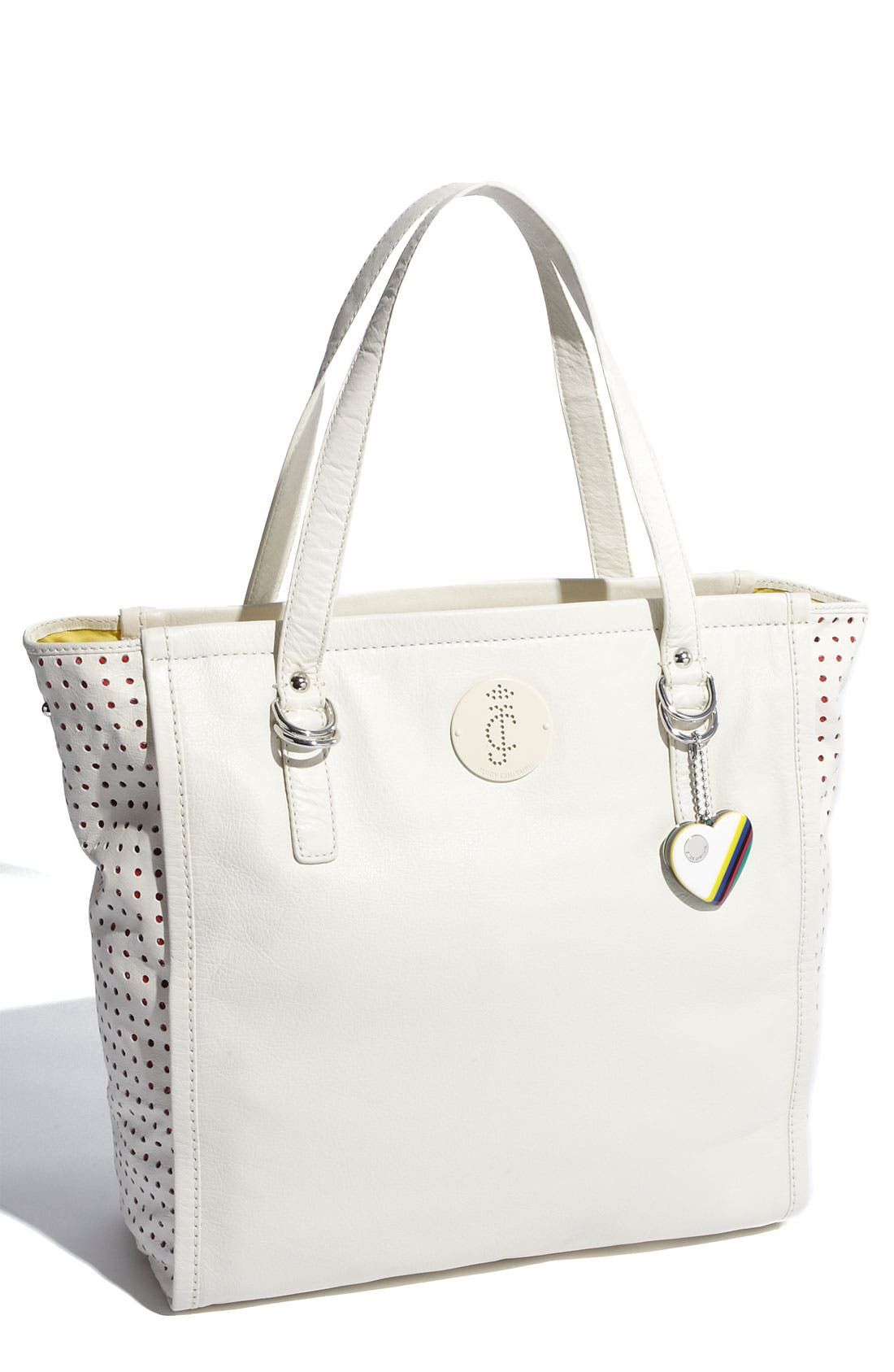 Alternate Image 1 Selected - Juicy Couture 'Paisley Punched Up' Leather Tote
