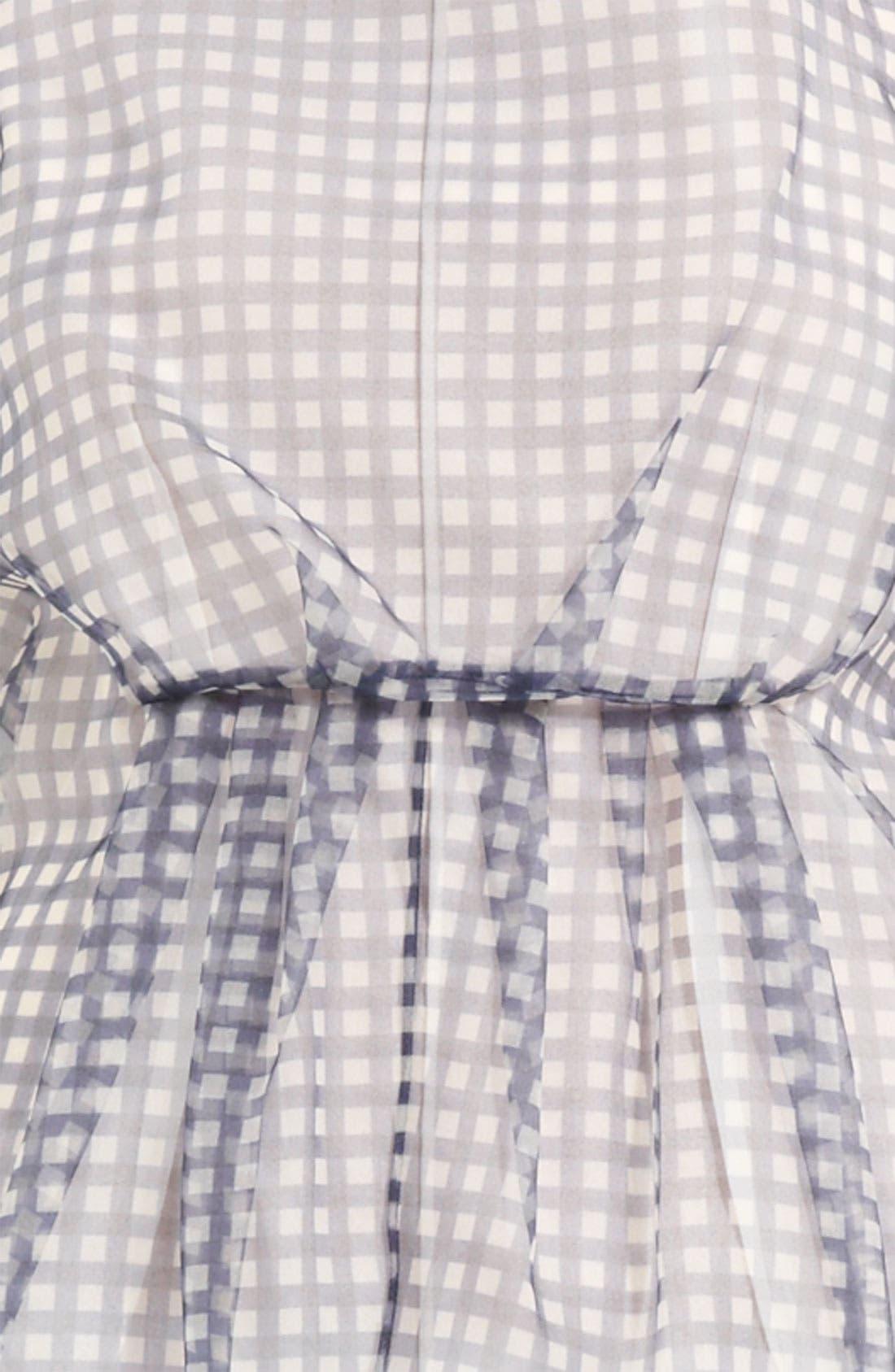 Alternate Image 3  - MARC JACOBS Gingham Print Organza Dress