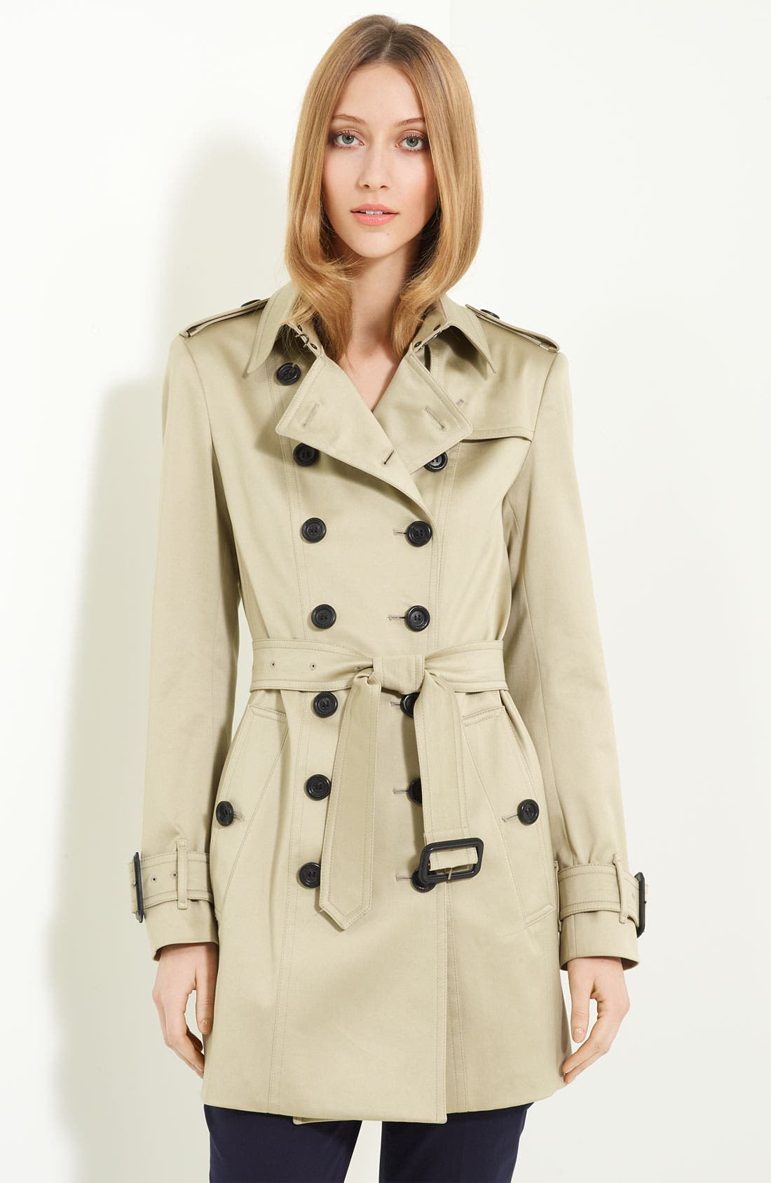 Main Image - Burberry London Belted Trench Coat
