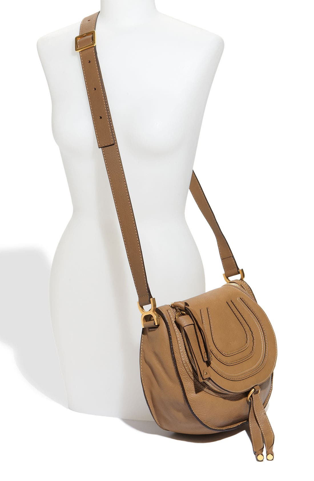 Alternate Image 2  - Chloé 'Marcie' Leather Crossbody Bag