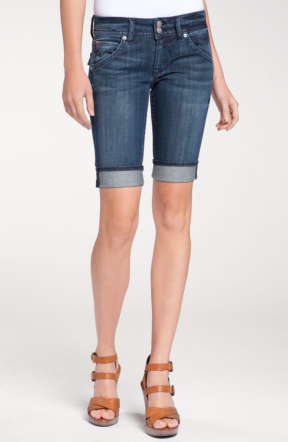 Alternate Image 2  - Hudson Jeans 'Palerme' Cuff Bermuda Shorts (Nantucket Island Wash)