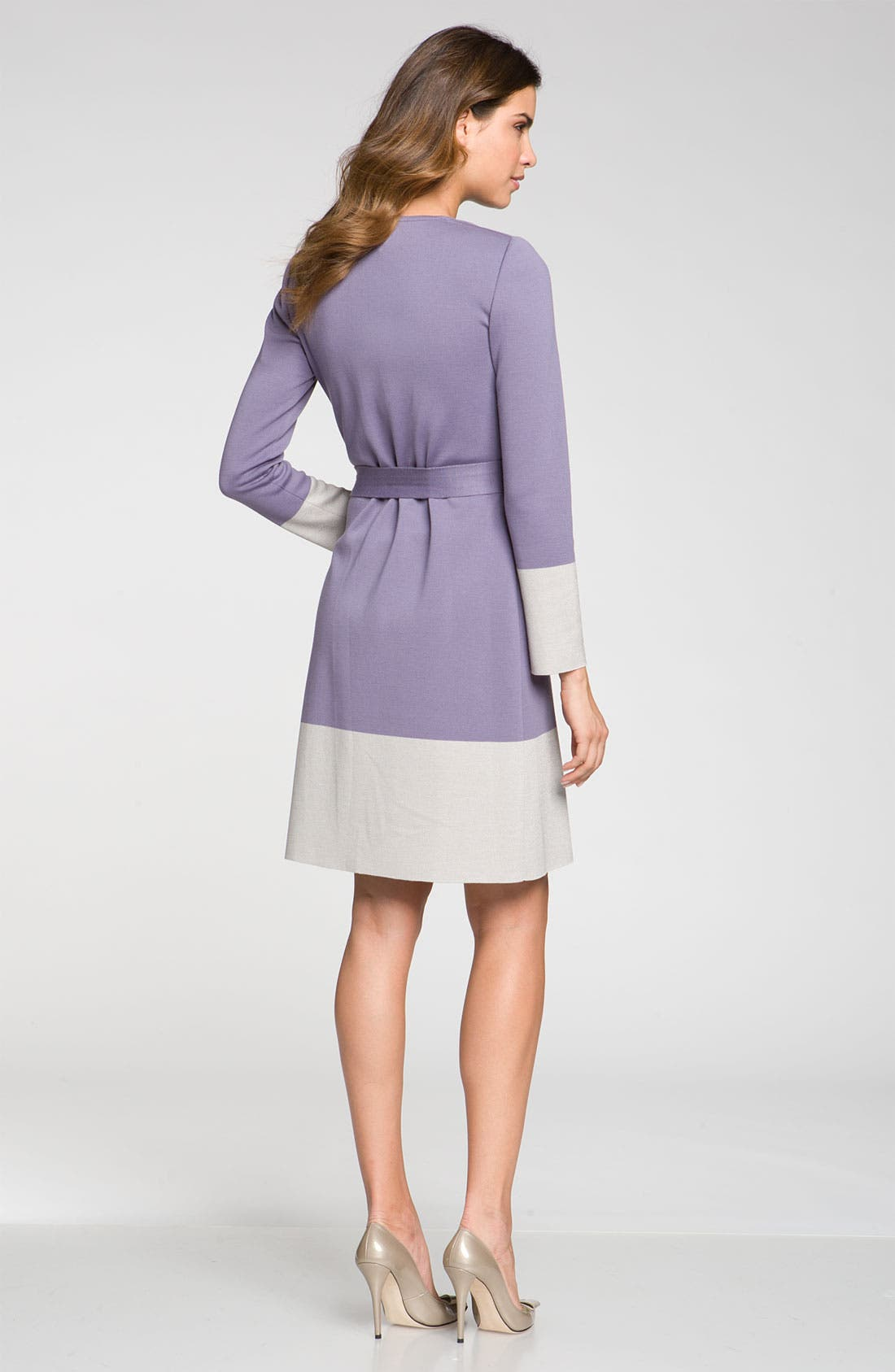 Alternate Image 5  - St. John Collection Colorblock Milano Knit Sheath Dress