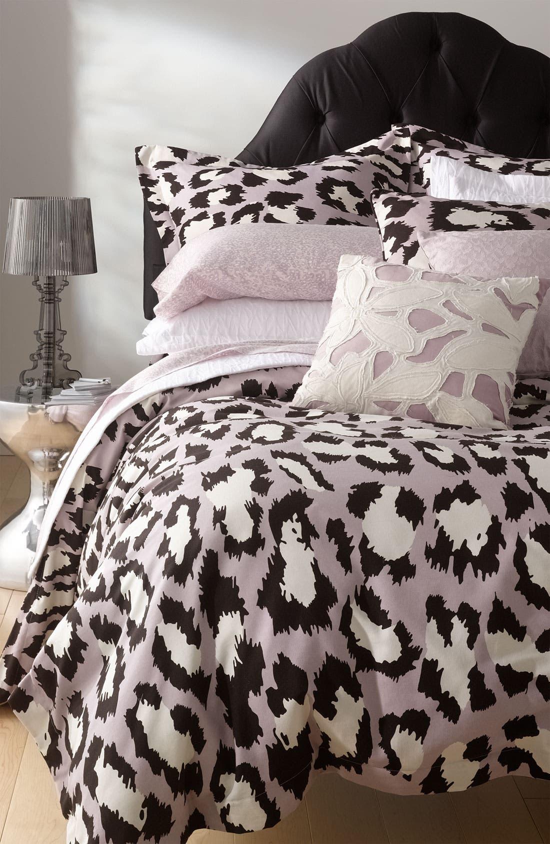 Alternate Image 4  - Diane von Furstenberg 'Tiny Leopard' 300 Thread Count Fitted Sheet