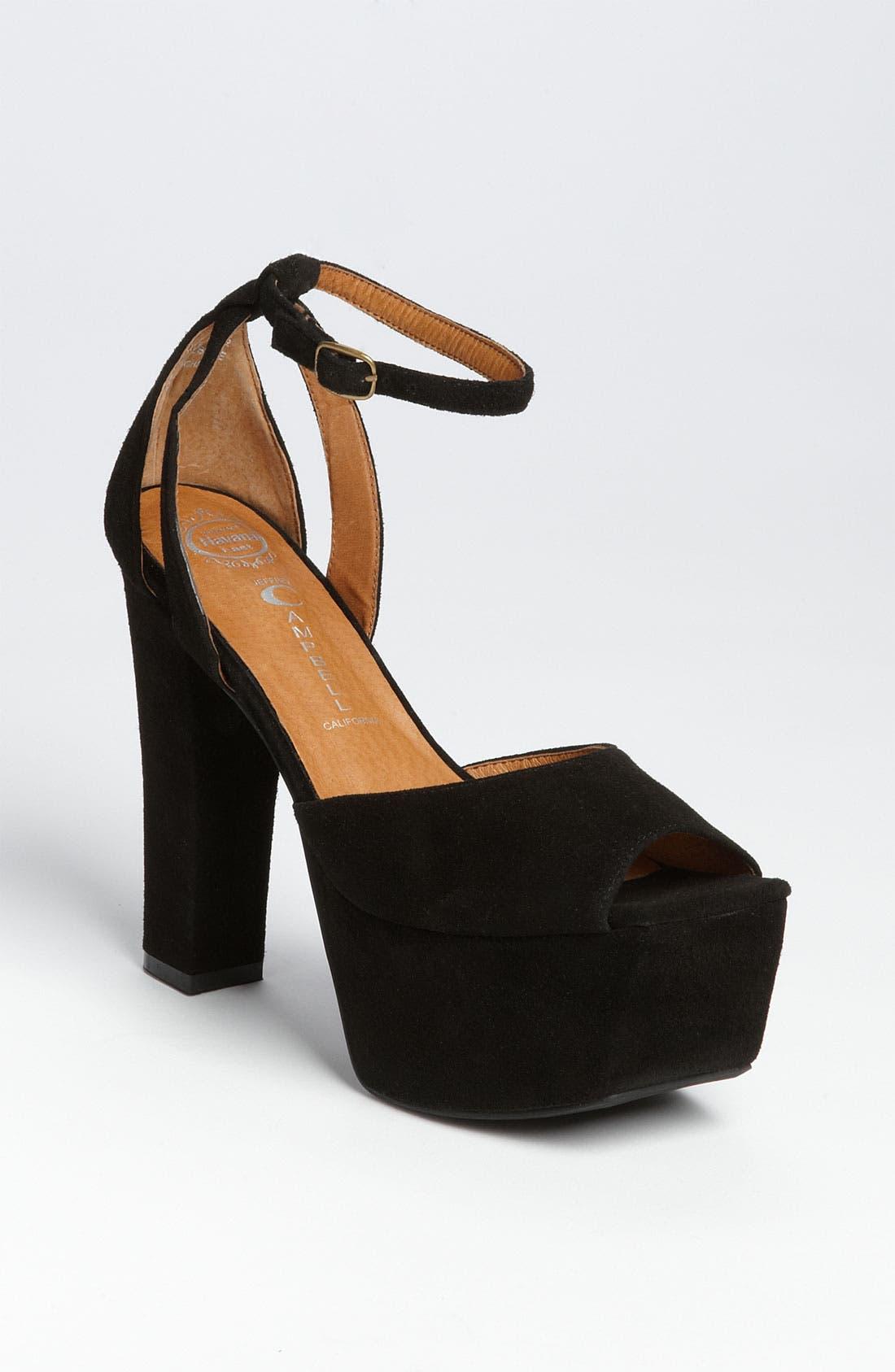 Alternate Image 1 Selected - Jeffrey Campbell 'Perfect 2' Platform Sandal