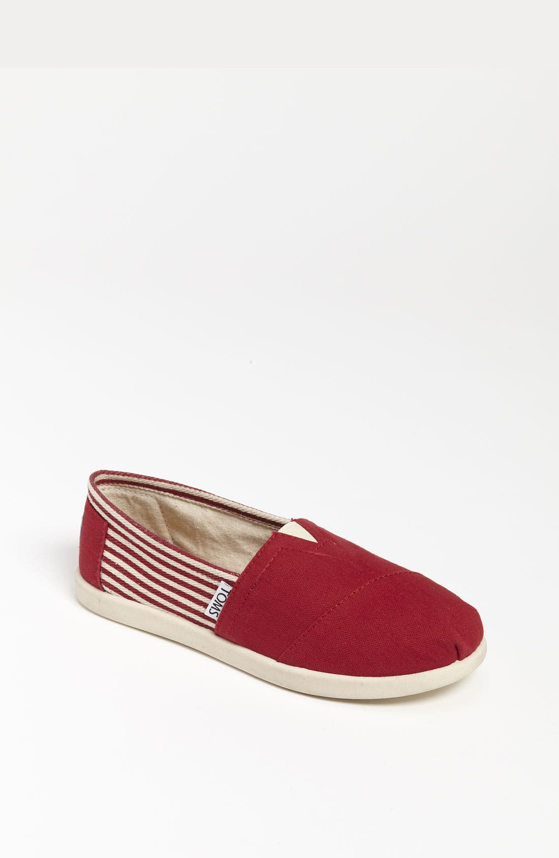 Main Image - TOMS 'Classic Youth - University' Canvas Slip-On (Toddler, Little Kid & Big Kid) (Nordstrom Exclusive)