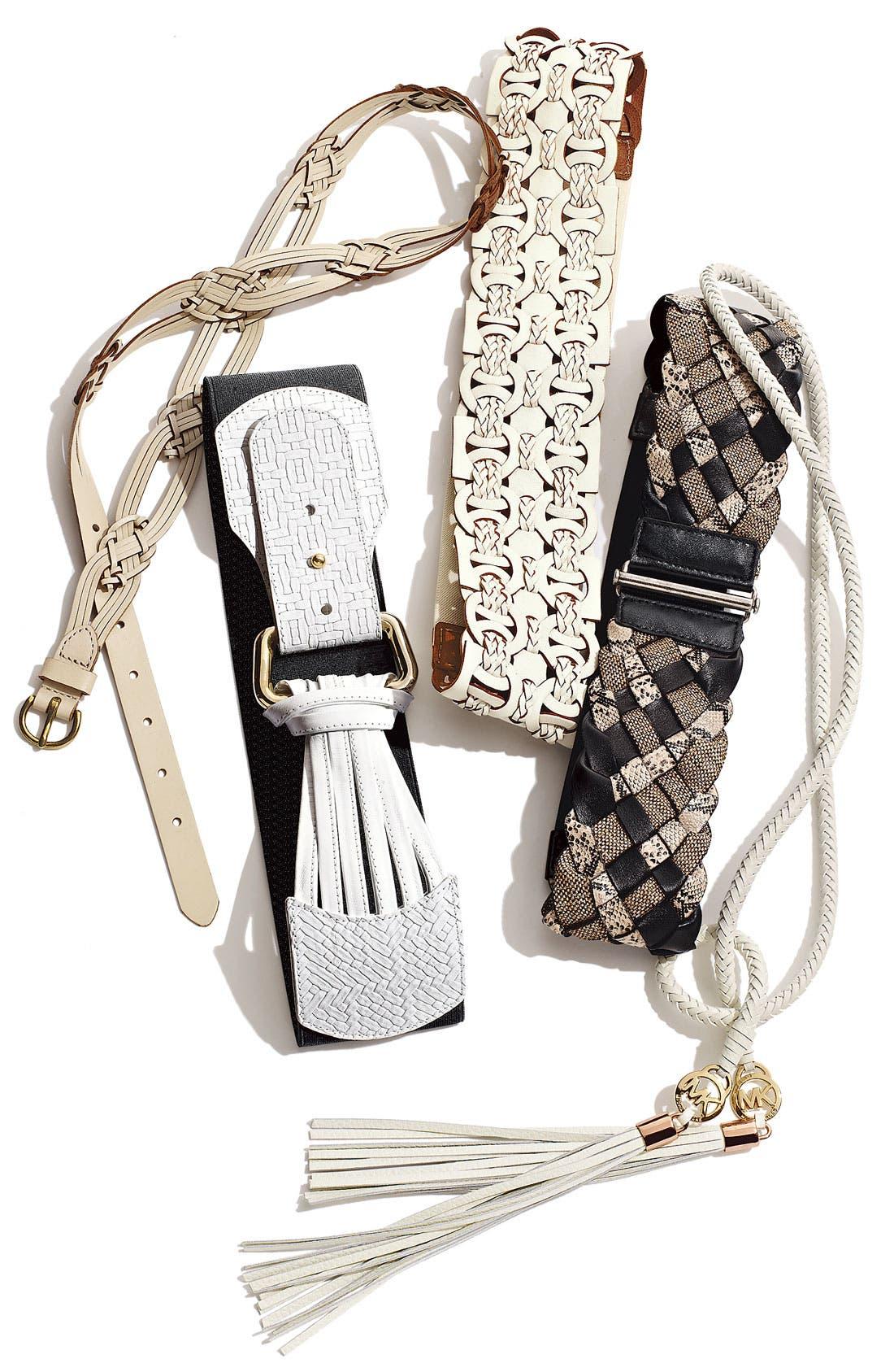 Alternate Image 2  - MICHAEL Michael Kors Braided Belt