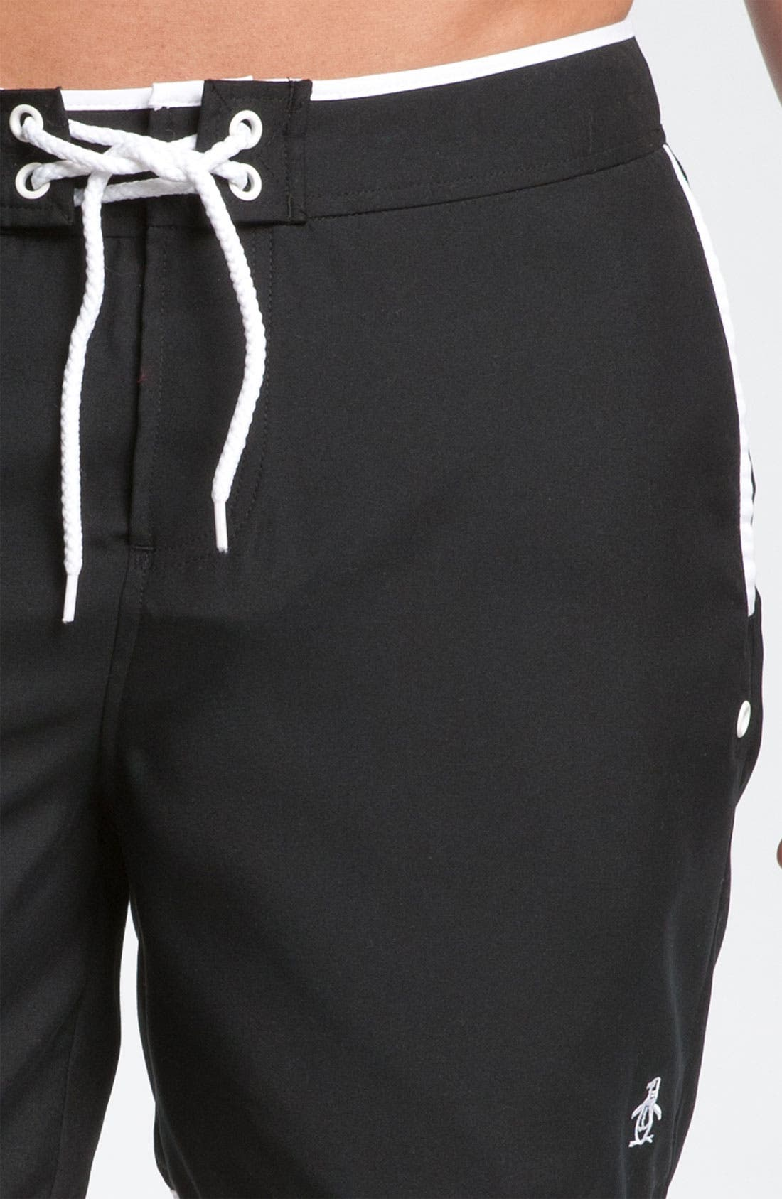Alternate Image 3  - Original Penguin Solid Volley Swim Shorts