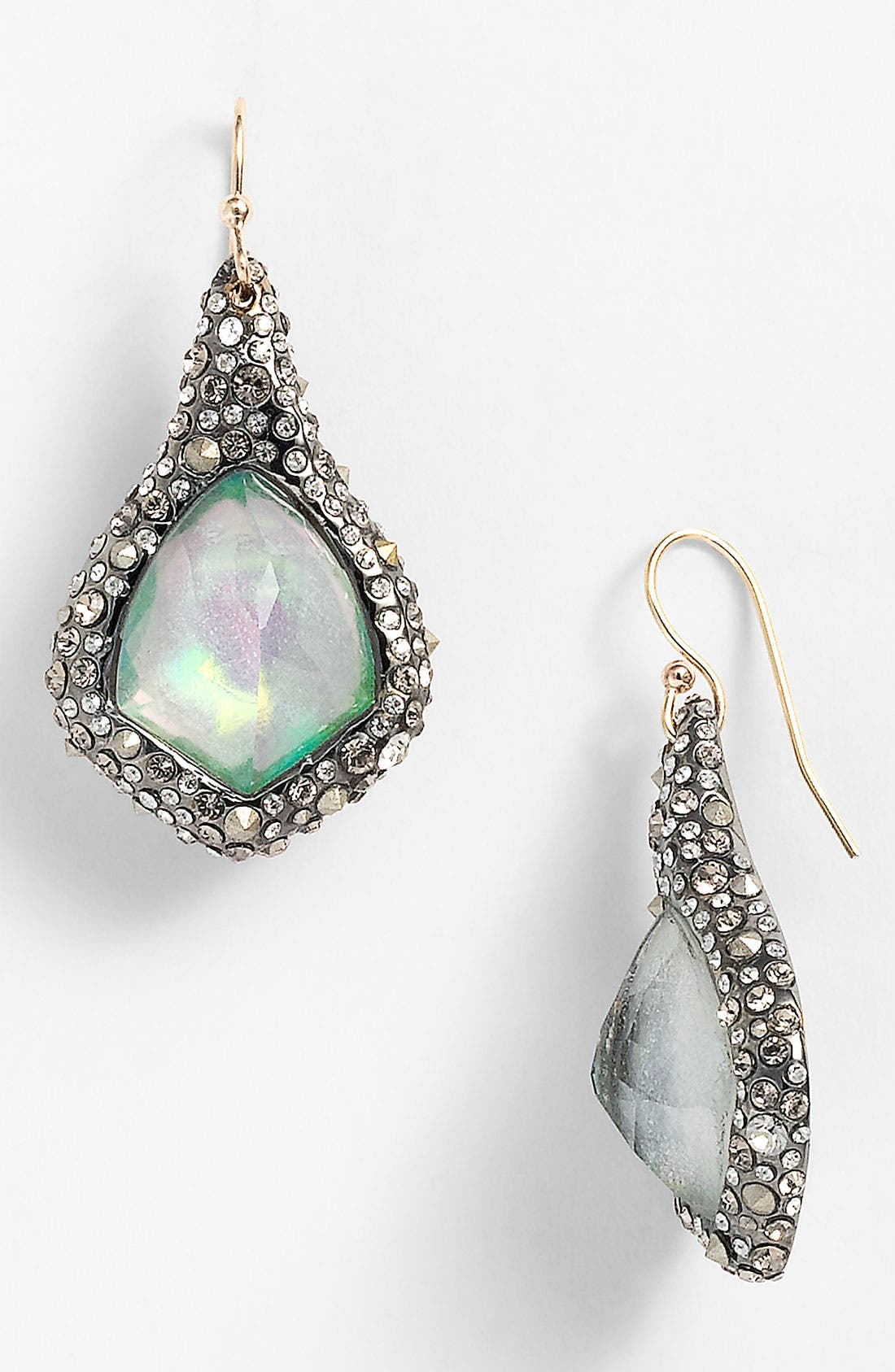 Alternate Image 1 Selected - Alexis Bittar 'Miss Havisham' Crystal Encrusted Kite Earrings