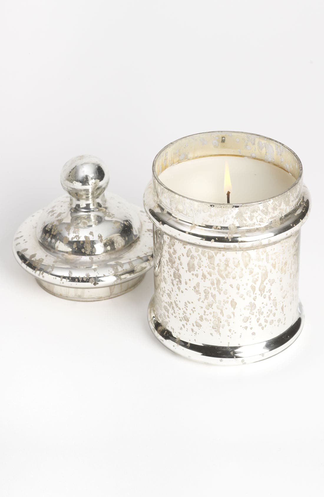 Alternate Image 1 Selected - Himalayan Trading Post Silver Candy Jar Candle