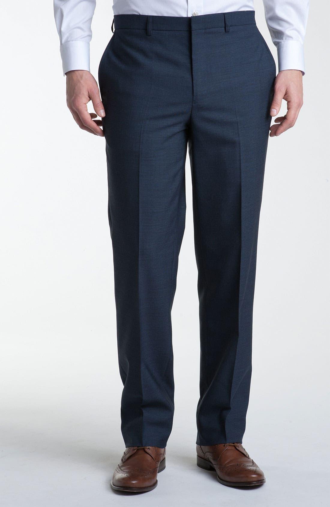 Alternate Image 1 Selected - Calibrate Mini Check Wool Pants
