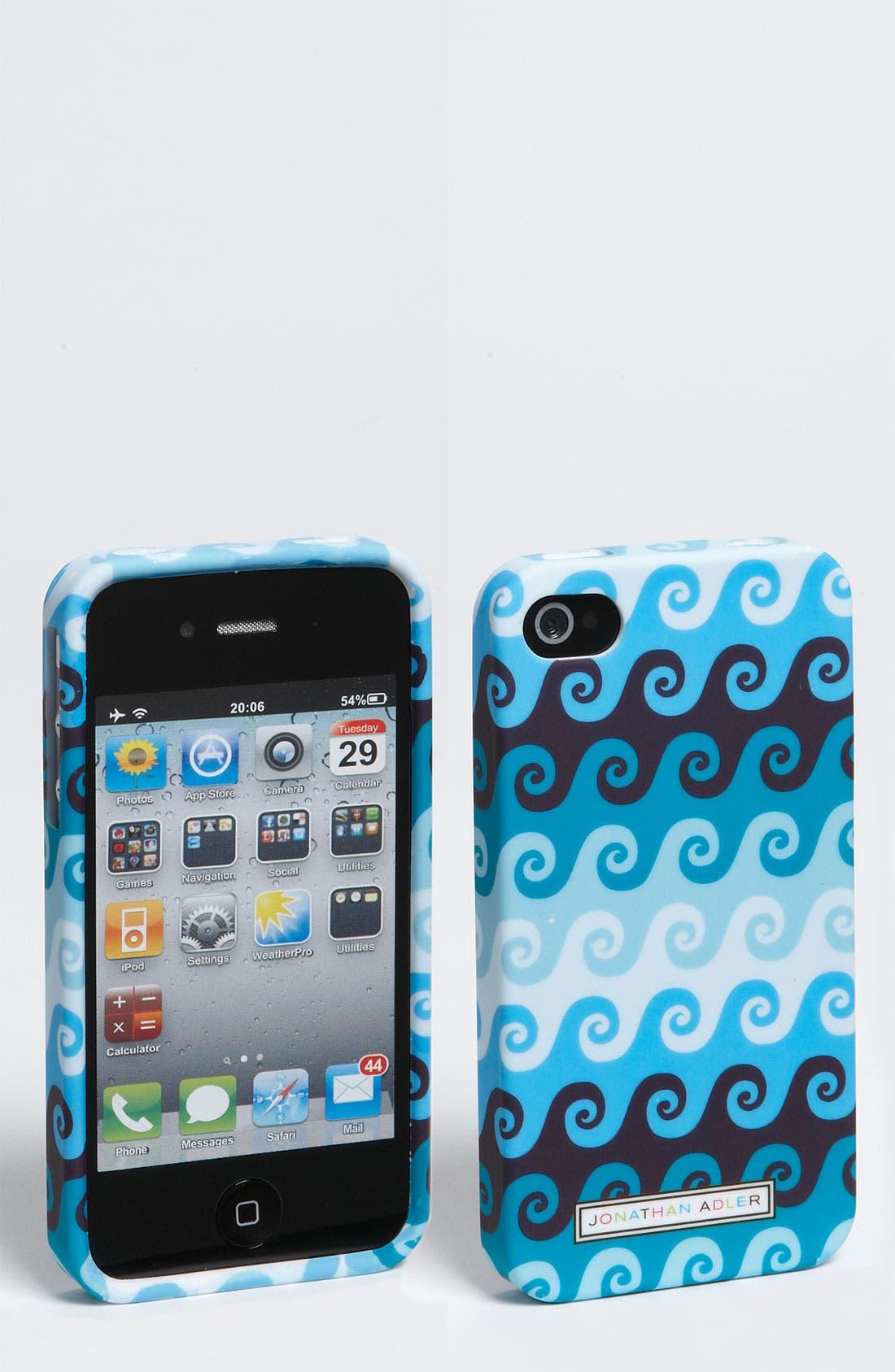 Alternate Image 1 Selected - Jonathan Adler 'Swirls' iPhone 4 & 4S Case