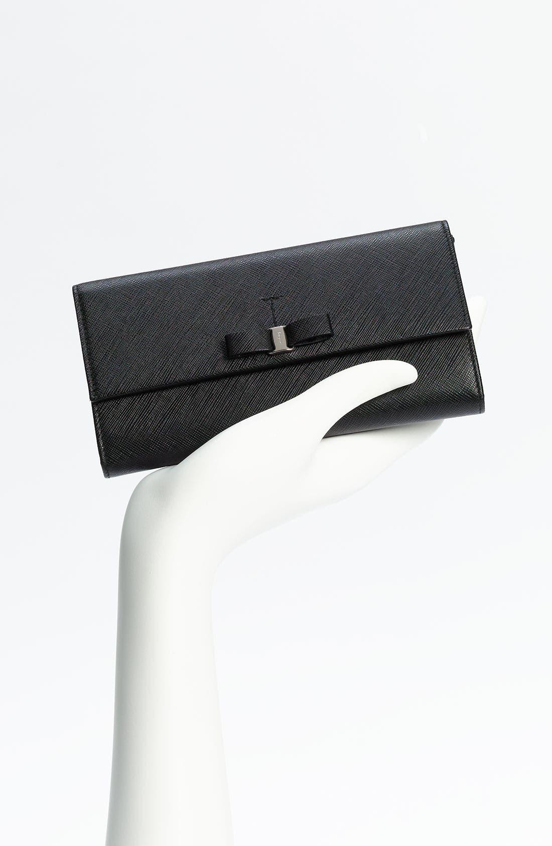 Alternate Image 4  - Salvatore Ferragamo 'Vara' Continental Wallet