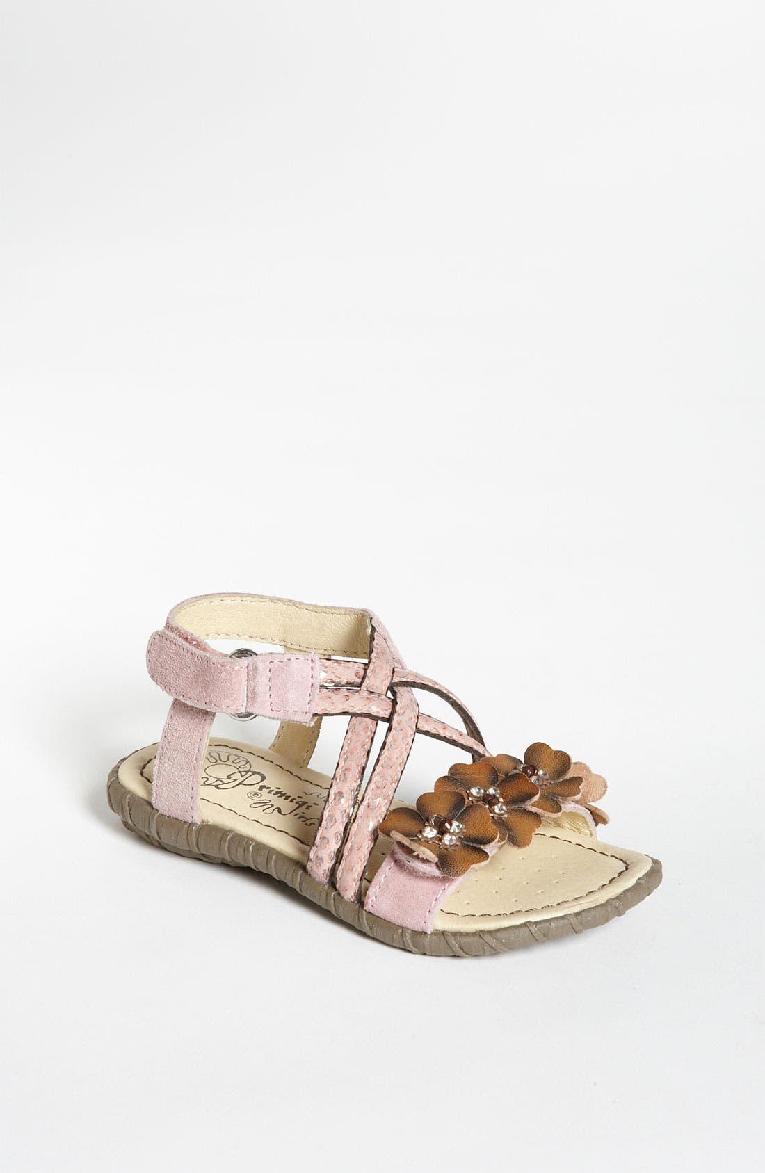 Alternate Image 1 Selected - Primigi 'Genesia' Sandal (Toddler)